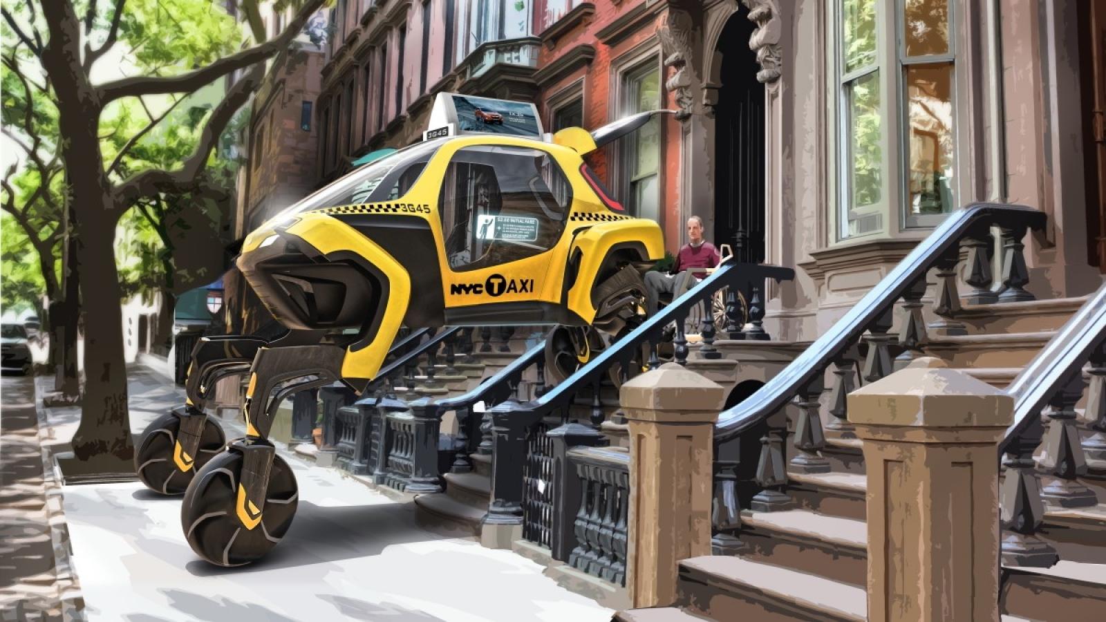 Ô tô có khả năng đi bộ - Phương tiện của tương lai