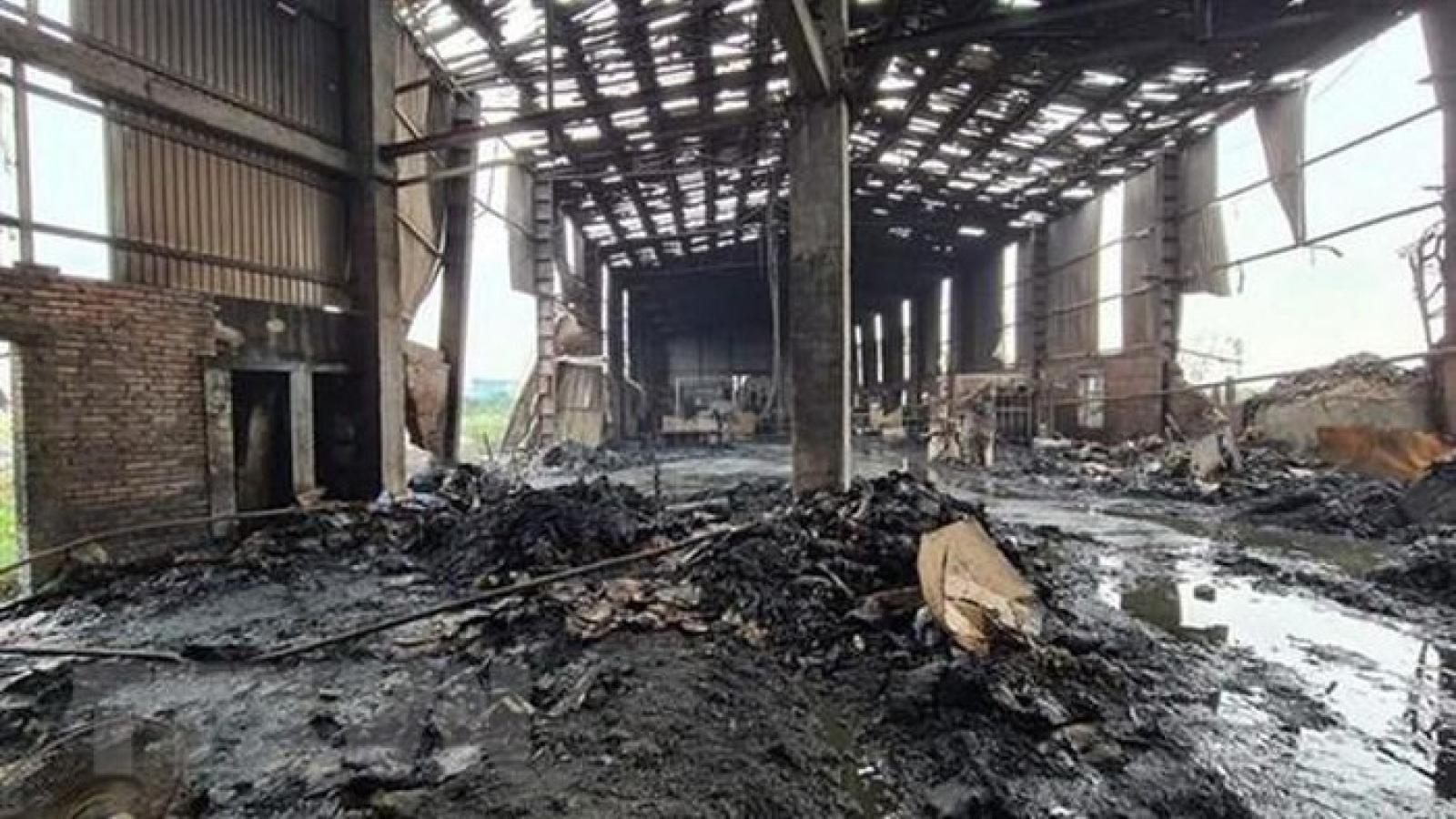 Nổ lò hơi tại xưởng sản xuất giấy ở Bắc Ninh, 1 người tử vong