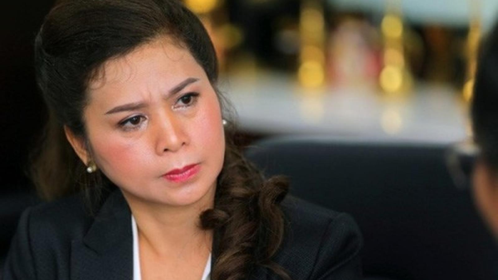 """Bà Lê Hoàng Diệp Thảo """"kêu cứu"""" lên Hội đồng Thẩm phán về vụ xử ly hôn"""
