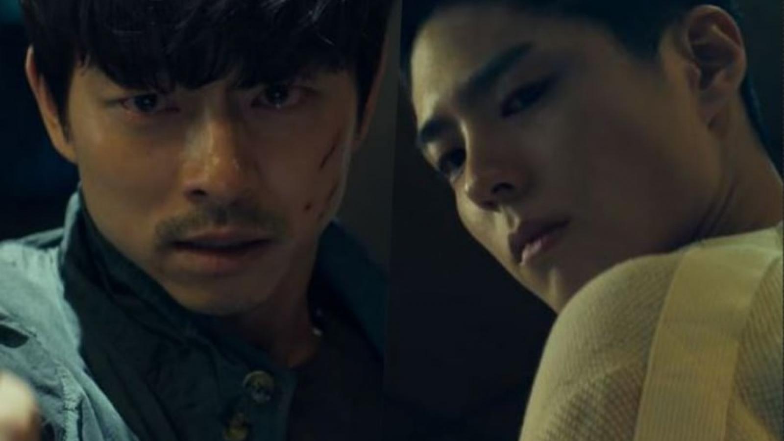 """Gong Yoo liều mình bảo vệ Park Bo Gum trong bom tấn điện ảnh """"Seo Bok"""""""