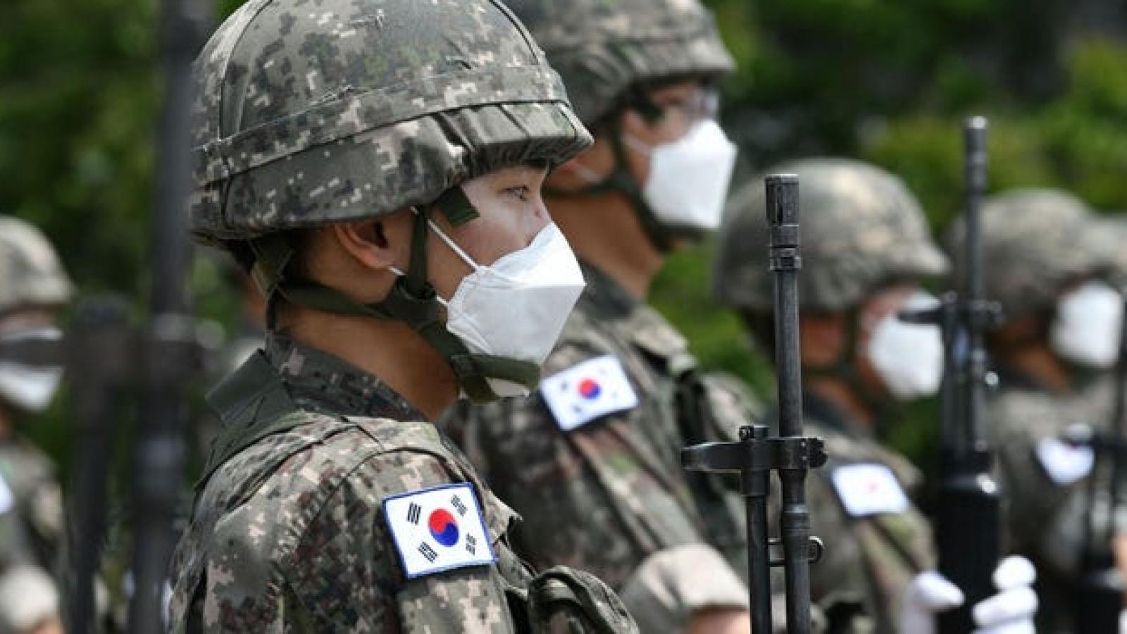 Thêm một ổ dịch COVID-19 mới trong quân đội Hàn Quốc