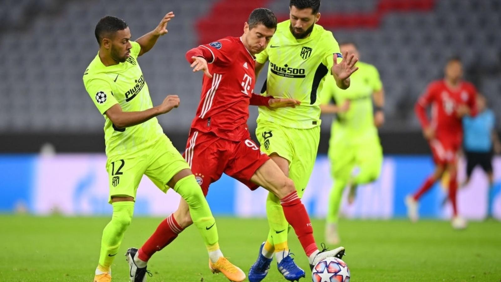 Bảng xếp hạng Champions League 2020/2021: MU và Bayern gây ấn tượng
