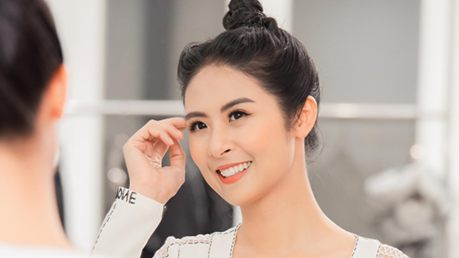 Ngọc Hân, Thanh Tú mua váy của Hà Duy ủng hộ miền Trung