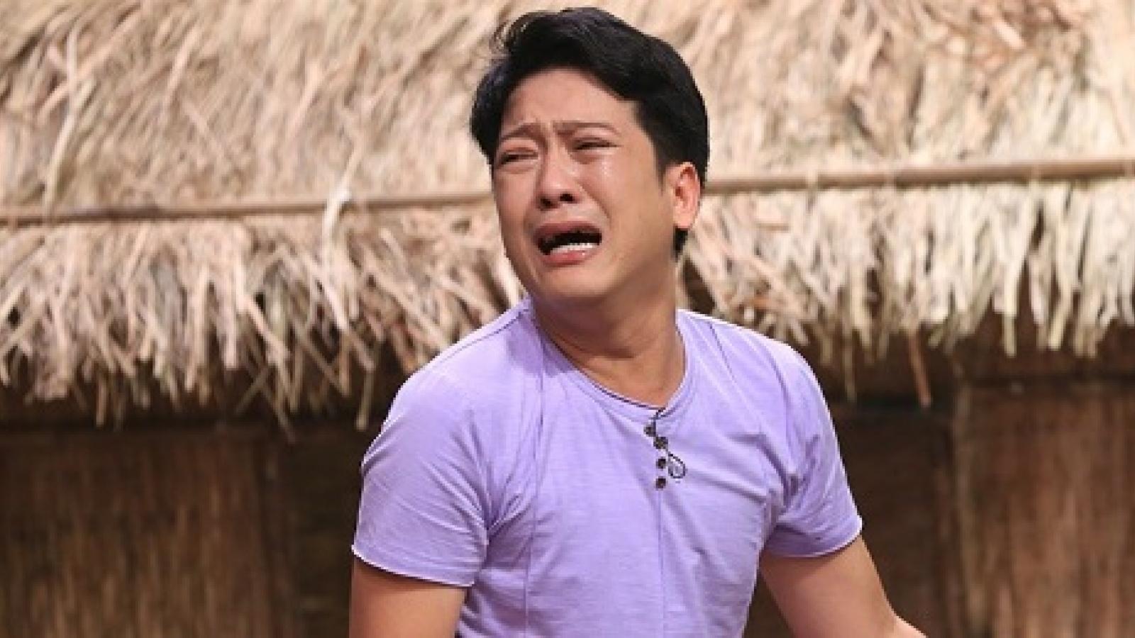 Những khoảnh khắc rơi nước mắt hiếm hoi của danh hài Trường Giang