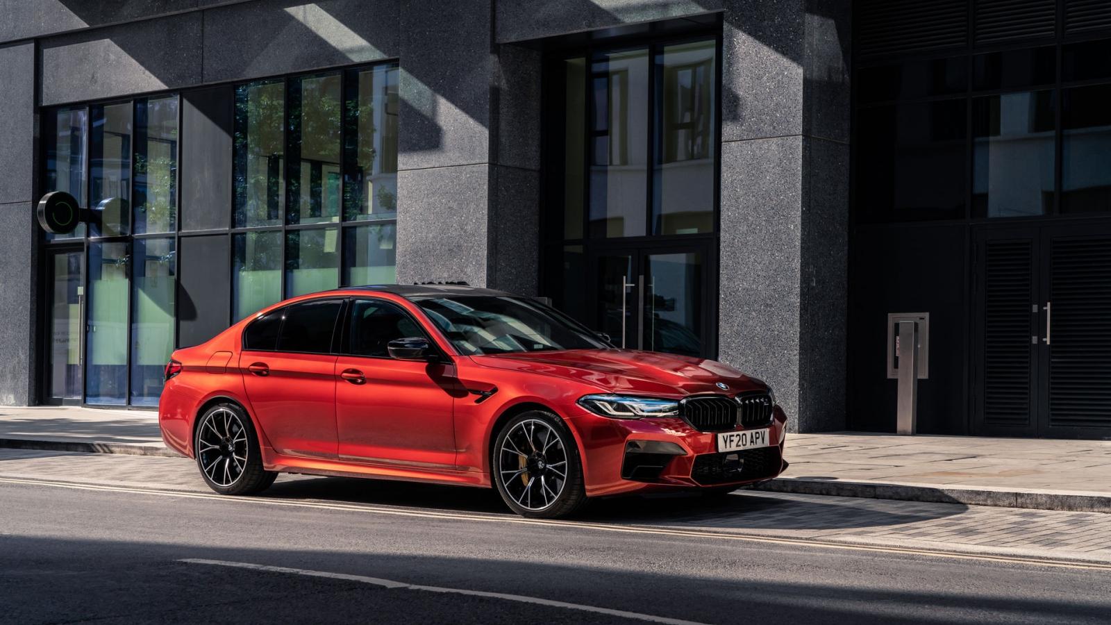 """BMW M5 bản nâng cấp 2021 trông ấn tượng và """"ngầu"""" hơn"""