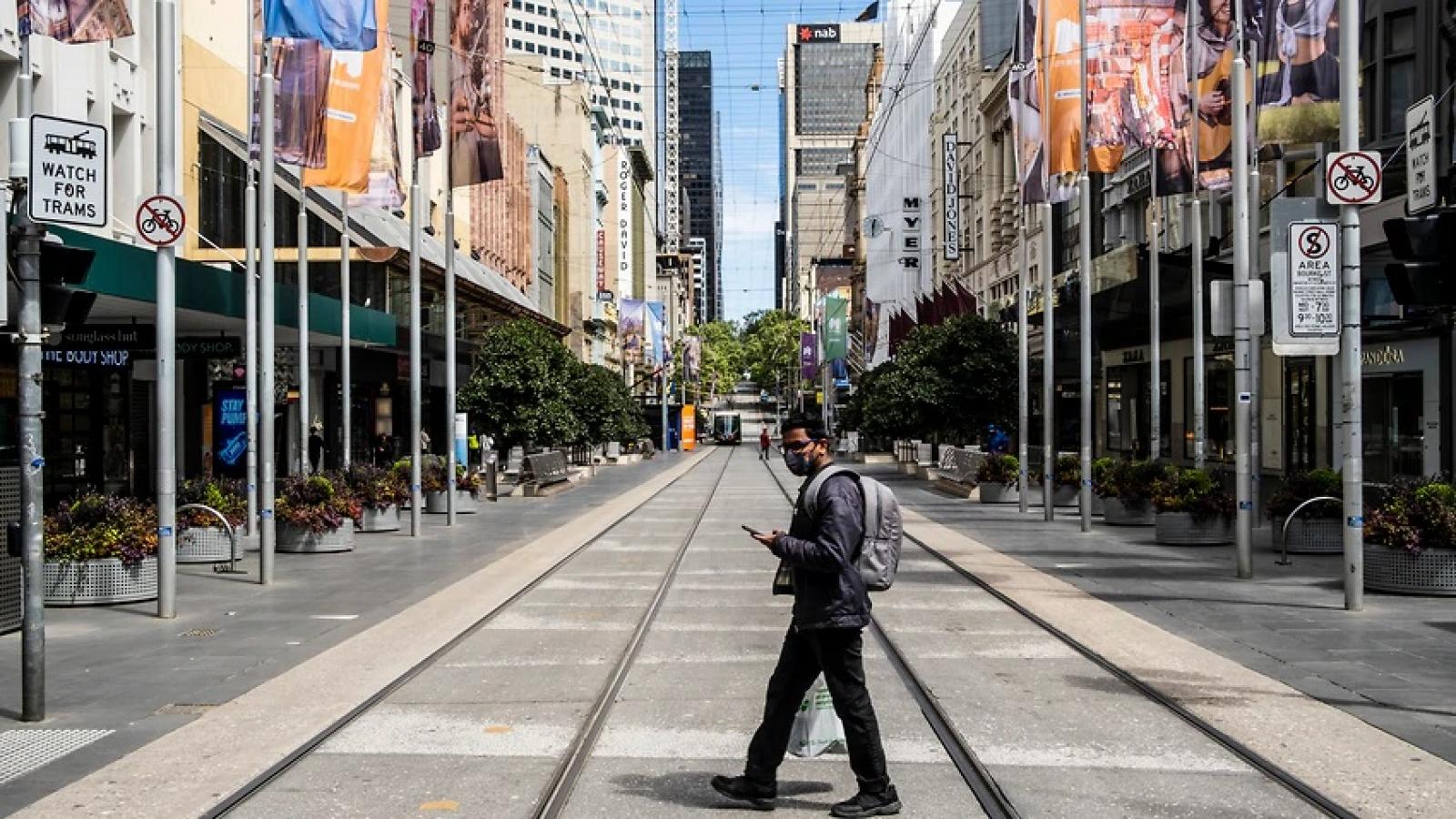 Thành phố Melbourne (Australia) nới lỏng hạn chế đi lại