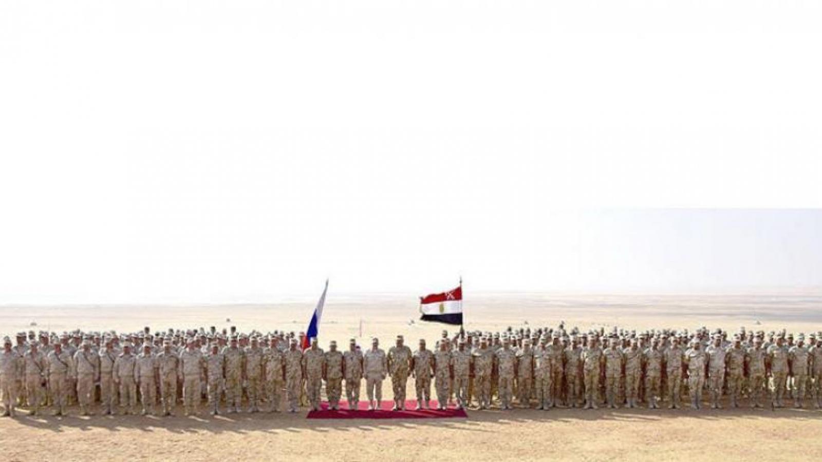 Nga và Ai Cập lần đầu tổ chức tập trận chung trên Biển Đen