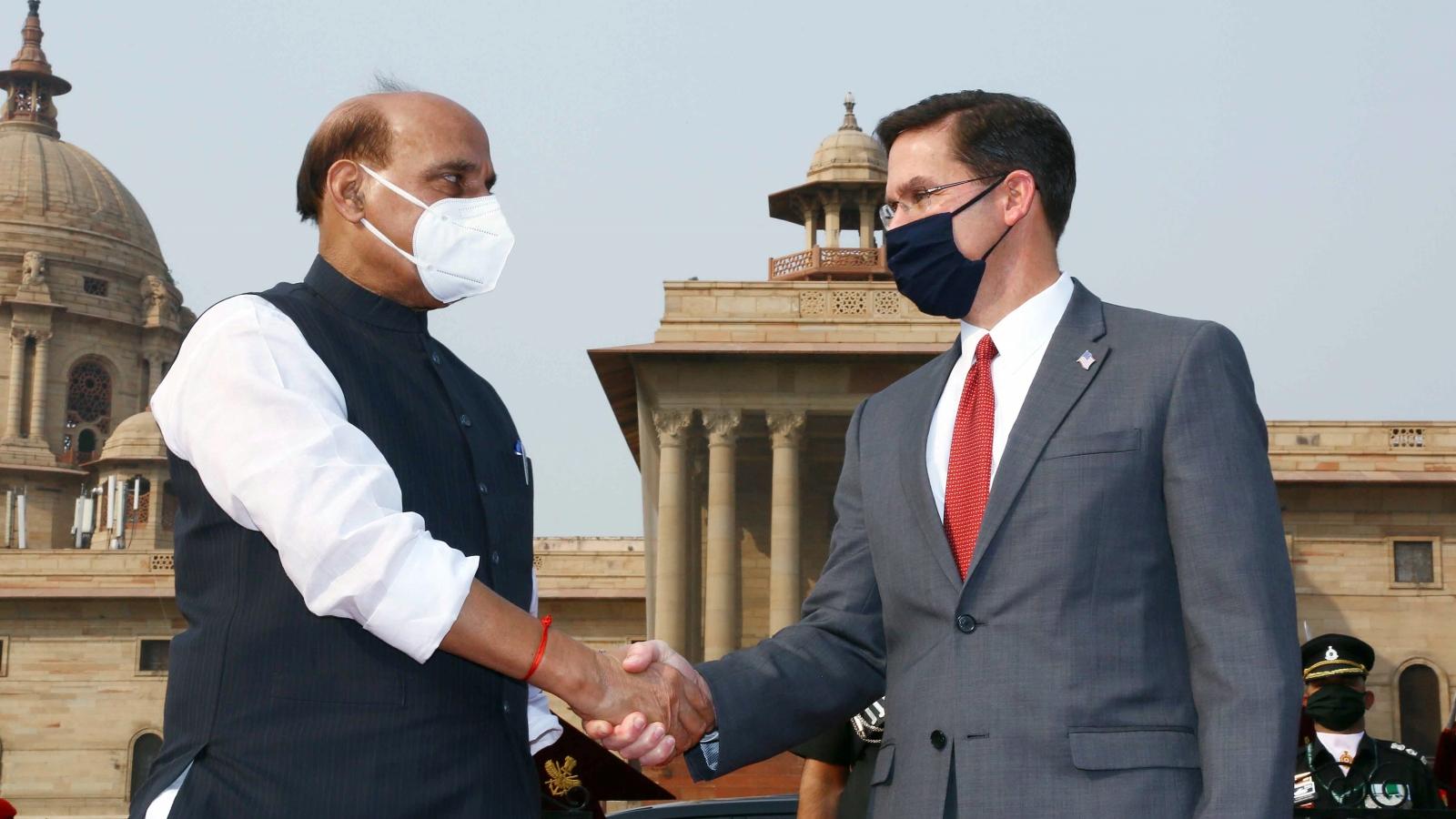 Mỹ - Ấn liên thủ cùng đối phó với Trung Quốc