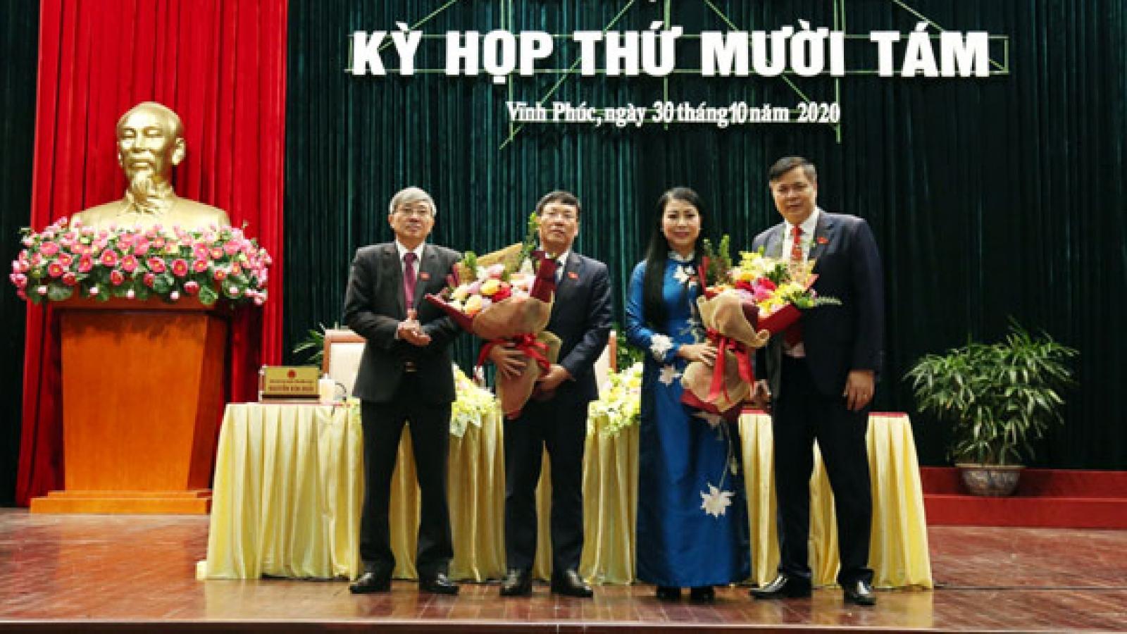 Ông Lê Duy Thành được bầu làm Chủ tịch tỉnh Vĩnh Phúc