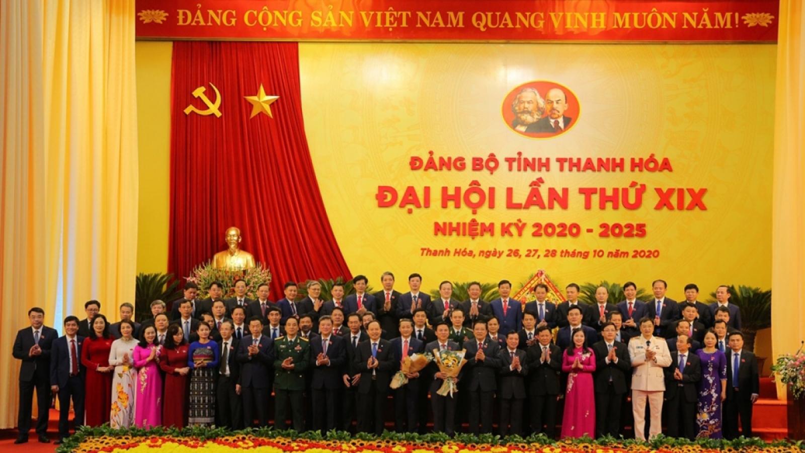"""BCH Đảng bộ Thanh Hoá hứa: """"Vì sự hài lòng-ấm no-sung túc của nhân dân"""""""