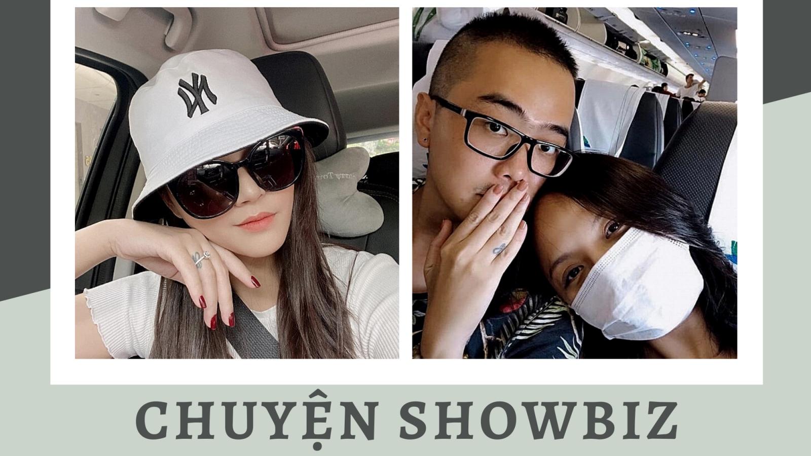 Chuyện showbiz: Thu Quỳnh đeo nhẫn ở ngón áp út, đã nhận lời cầu hôn của bạn trai?