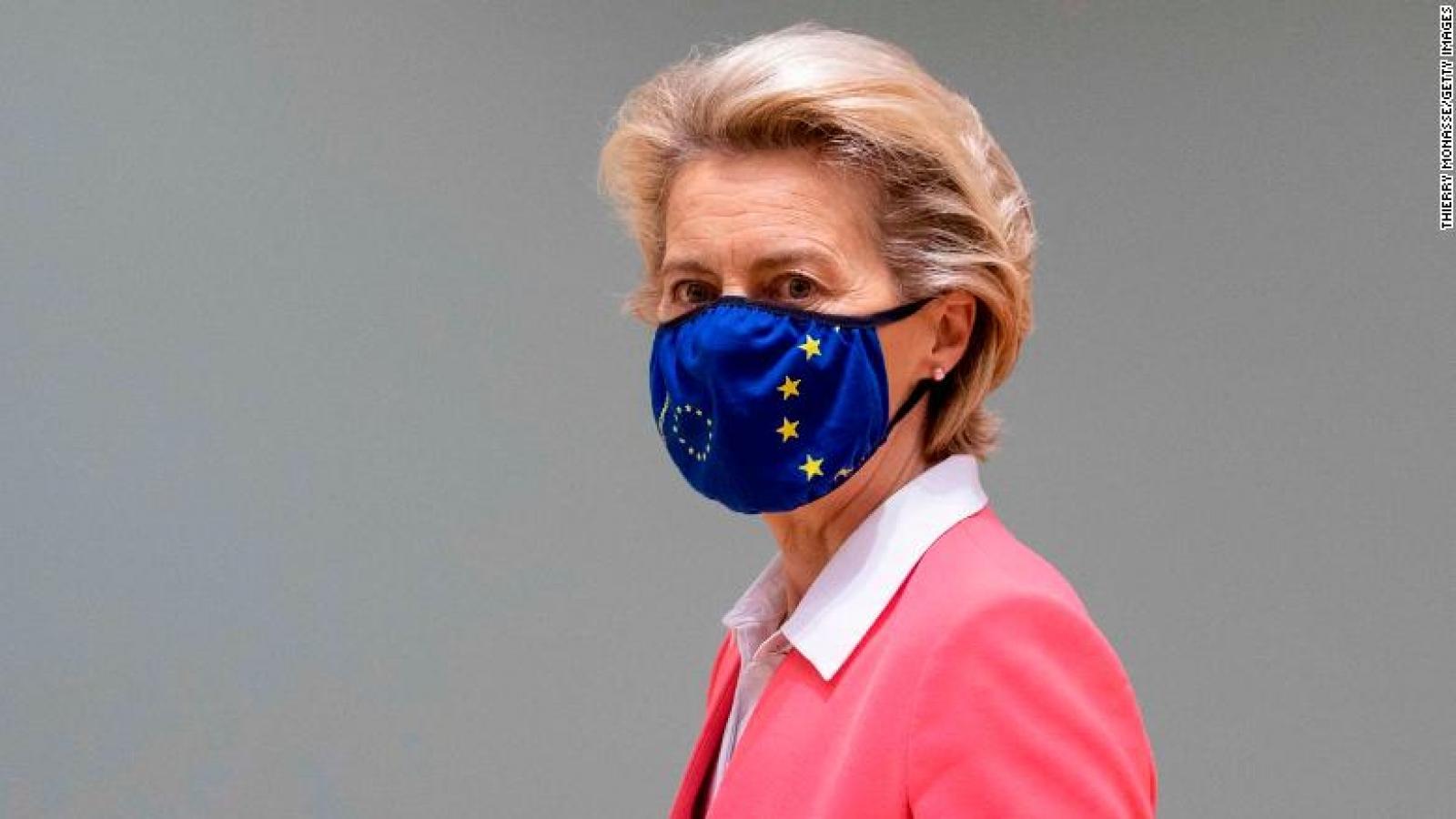 Chủ tịch Ủy ban châu Âu tự cách ly sau khi dự cuộc họp có người mắc Covid-19