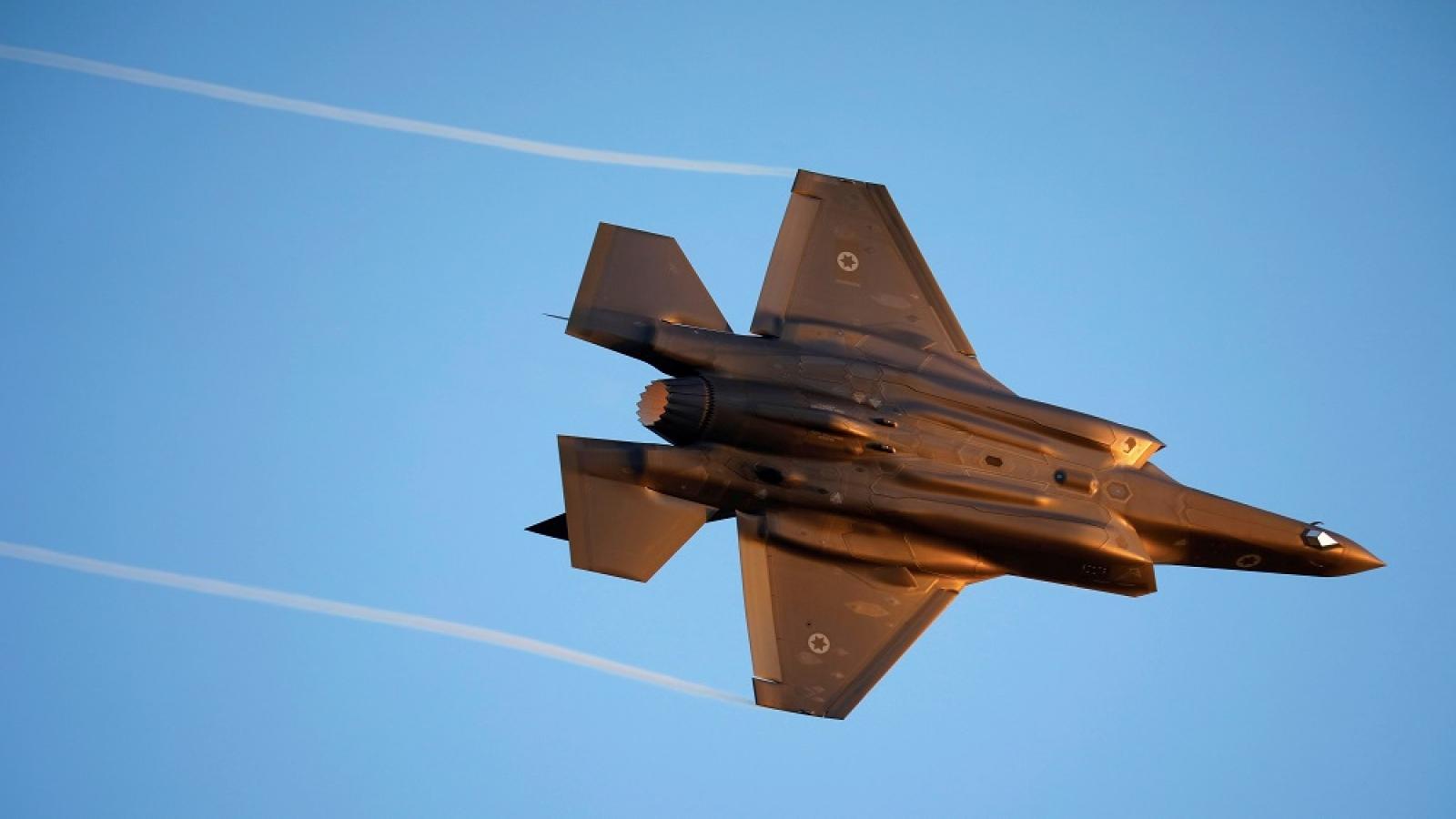 Israel sẽ phản đối nếu Mỹ bán máy bay chiến đấu F-35 cho Qatar