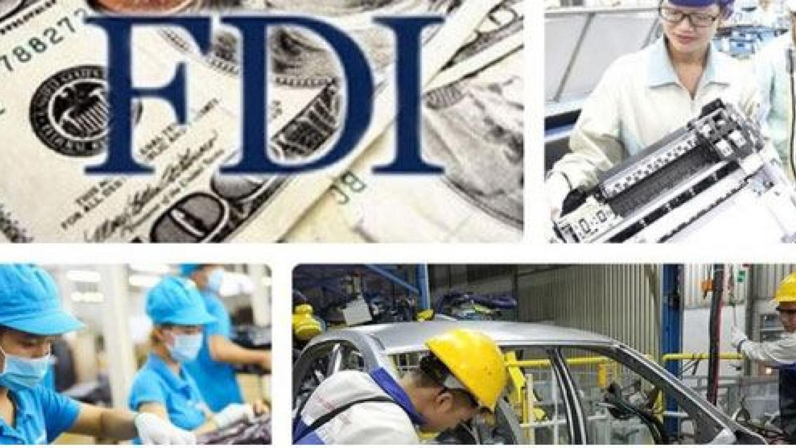 Vietnamese FDI attraction during nine-month period