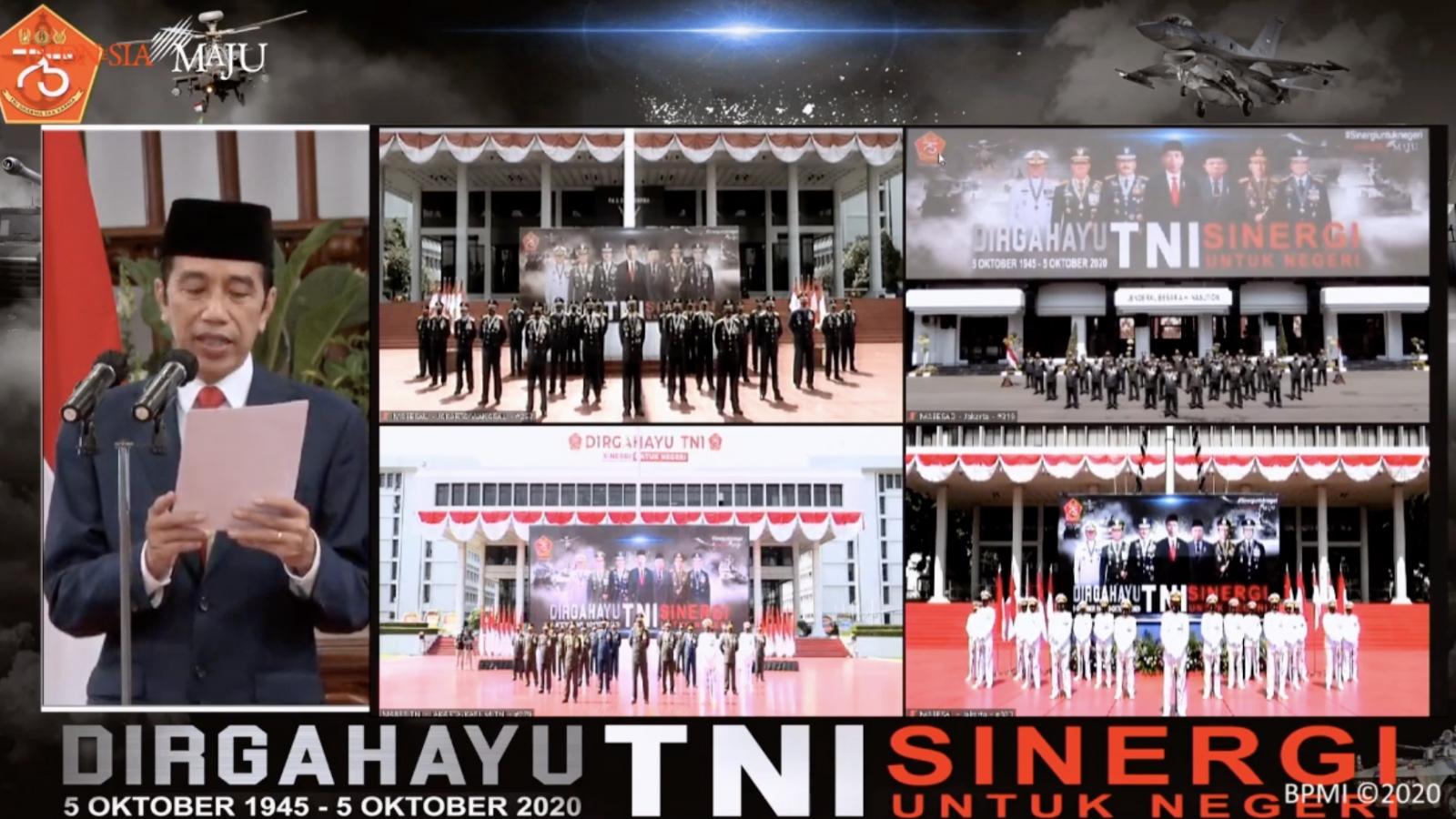 75 năm thành lập Quân đội quốc gia Indonesia: Lễ kỷ niệm trực tuyến do Covid-19