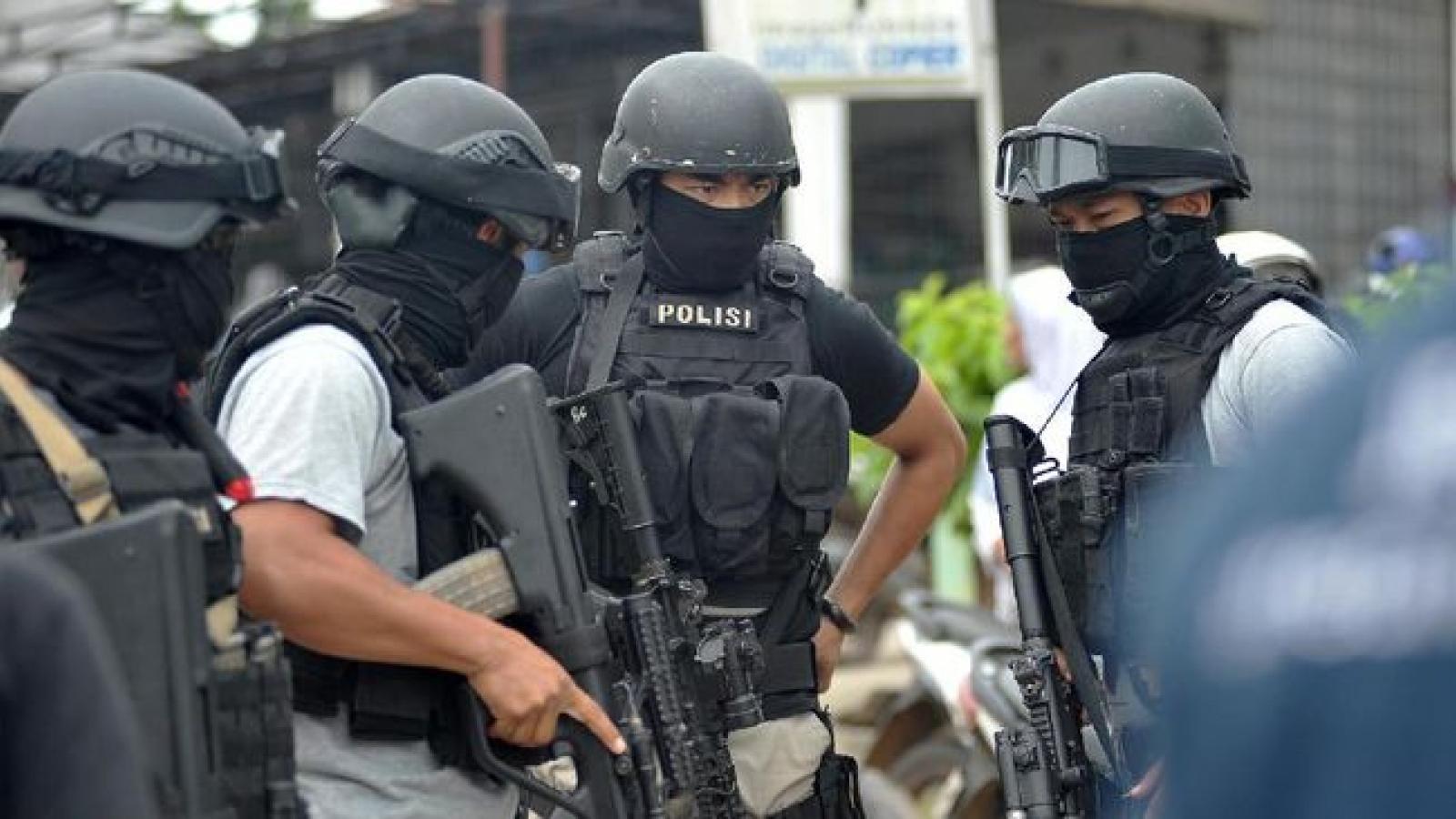 Indonesia bắt các kẻ tình nghi khủng bố tại Tây Java