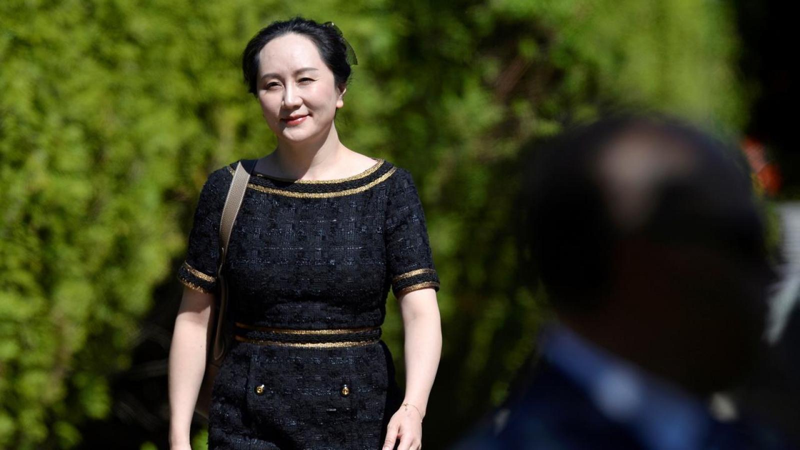 Tập đoàn Huawei ra thông báo trước phiên điều trần vụ án bà Mạnh Vãn Chu