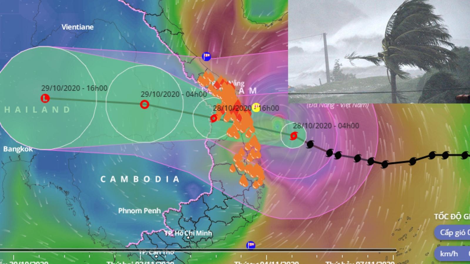 Typhoon Molave gathers steam, makes landfall Oct. 28
