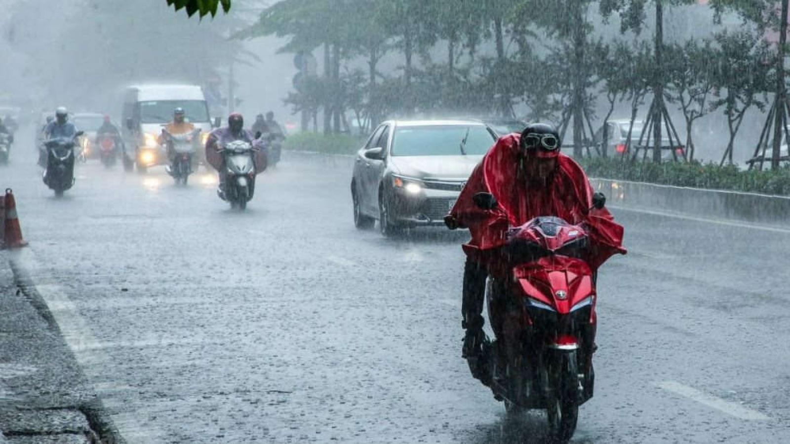 Thời tiết ngày 8/10: Mưa lớn diện rộng ở Trung Bộ