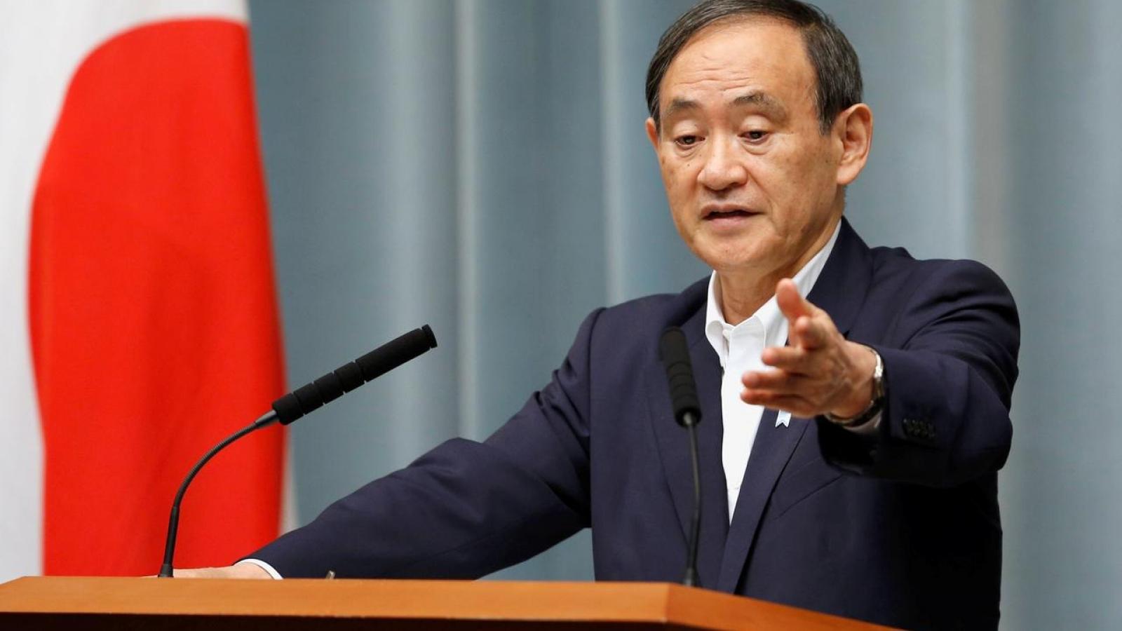 Tân Thủ tướng Nhật Bản Yoshihide Suga chưa giải tán Hạ viện trong năm nay