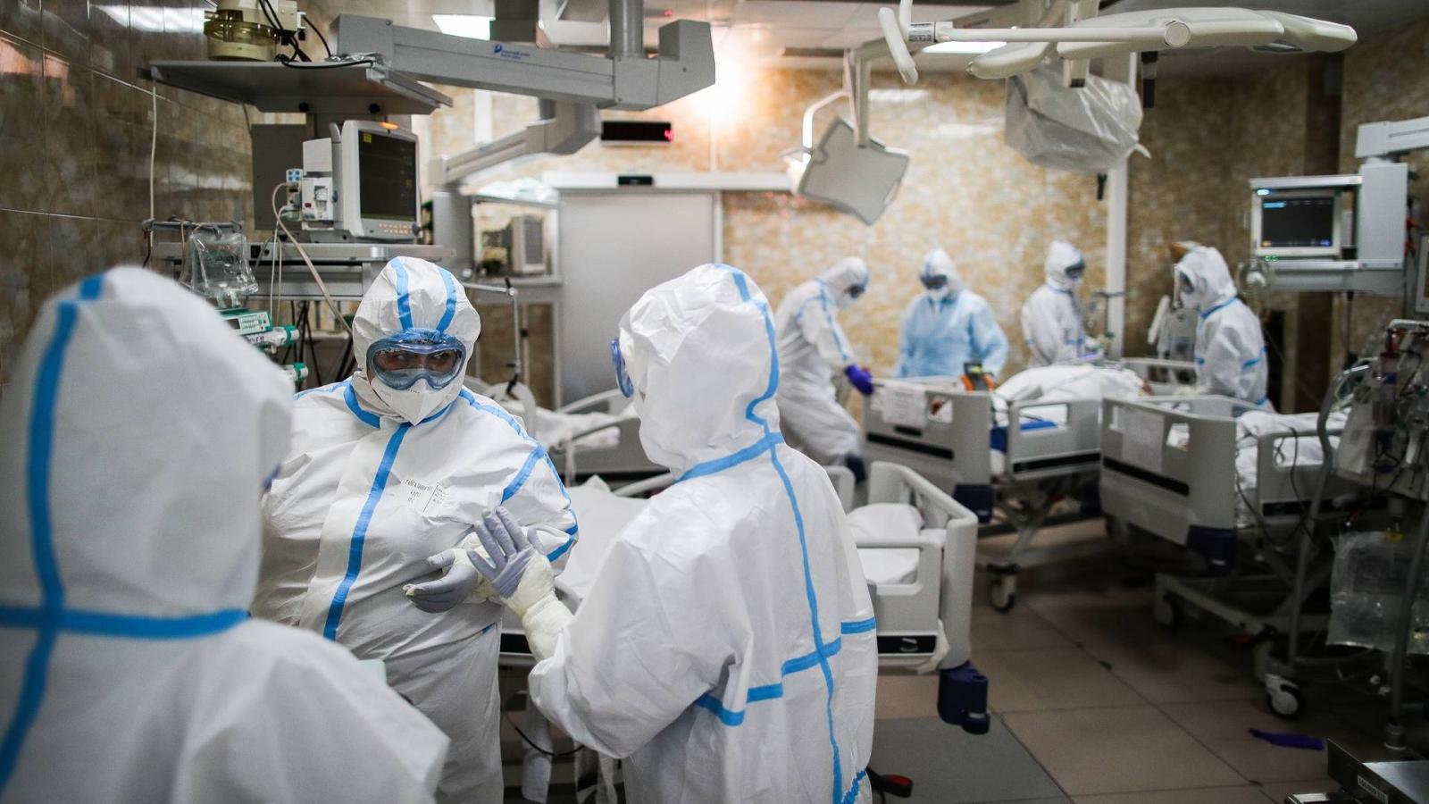 Nga ghi nhận hơn 12.000 ca nhiễm Covid-19 - kỷ lục mới kể từ đầu đại dịch