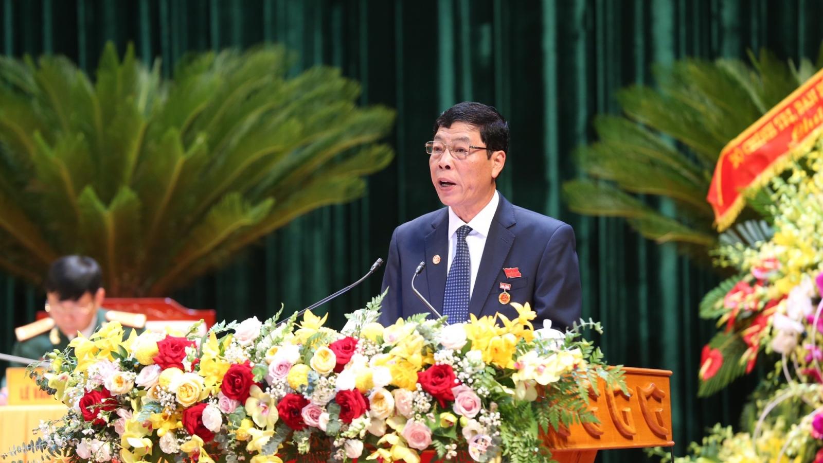 Bắc Giang phấn đấu ở nhóm 15 tỉnh, thành có quy mô kinh tế dẫn đầu
