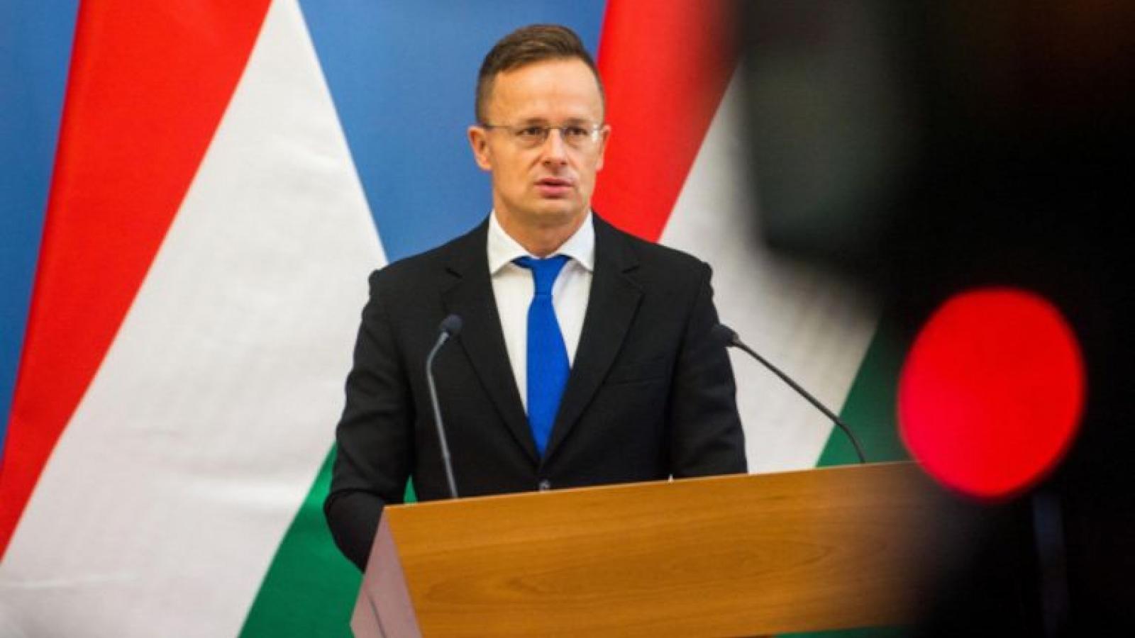 Hungarian Foreign Minister set for Vietnam visit on October 16