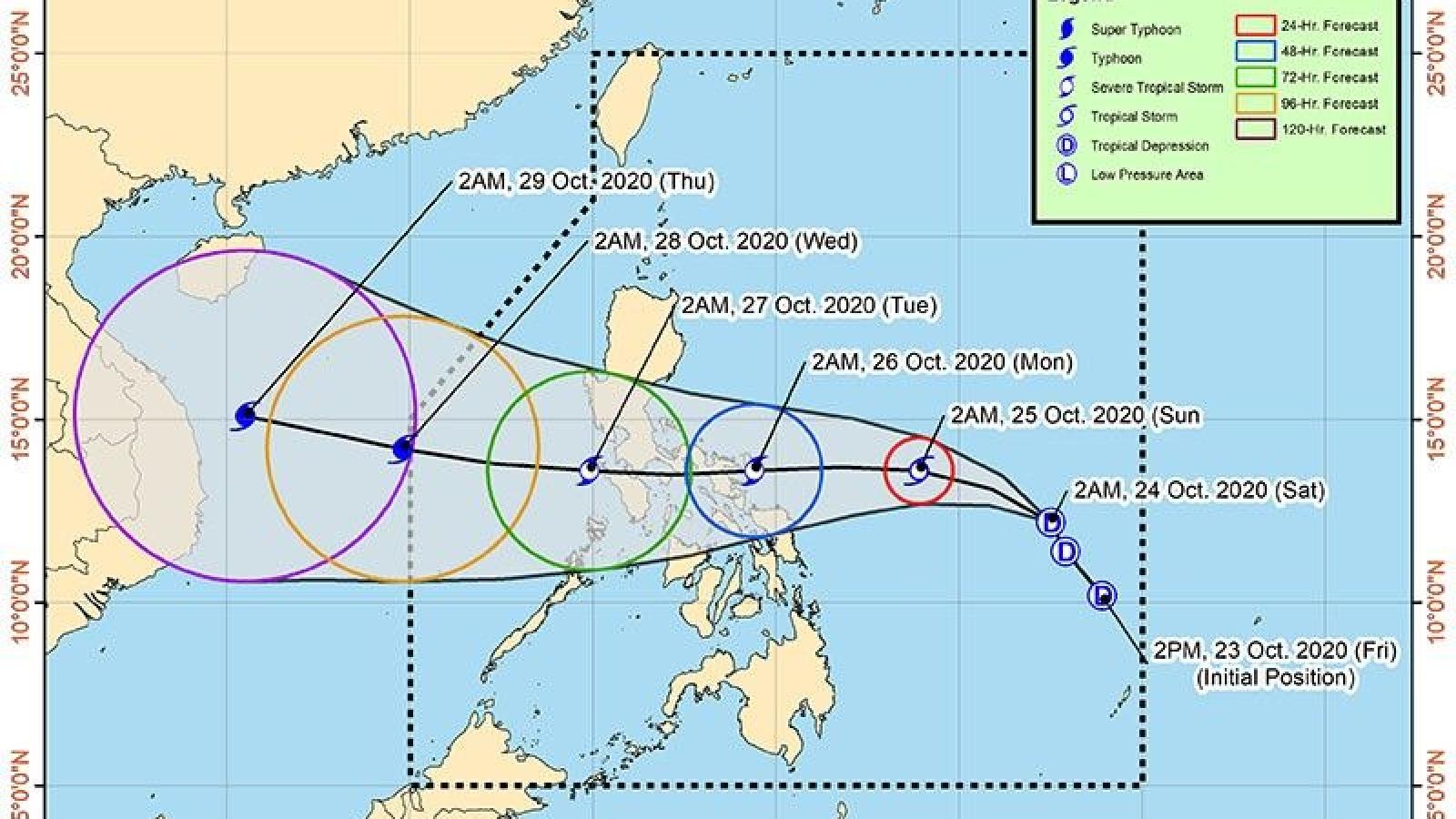 Con số thương vong do bão Molave ở Philippines có thể còn tăng cao