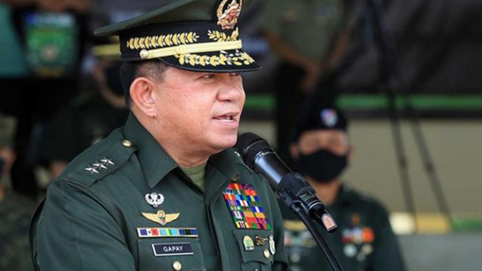"""Tướng Philippines: Tình hình Biển Đông vẫn đang """"rất căng thẳng"""""""