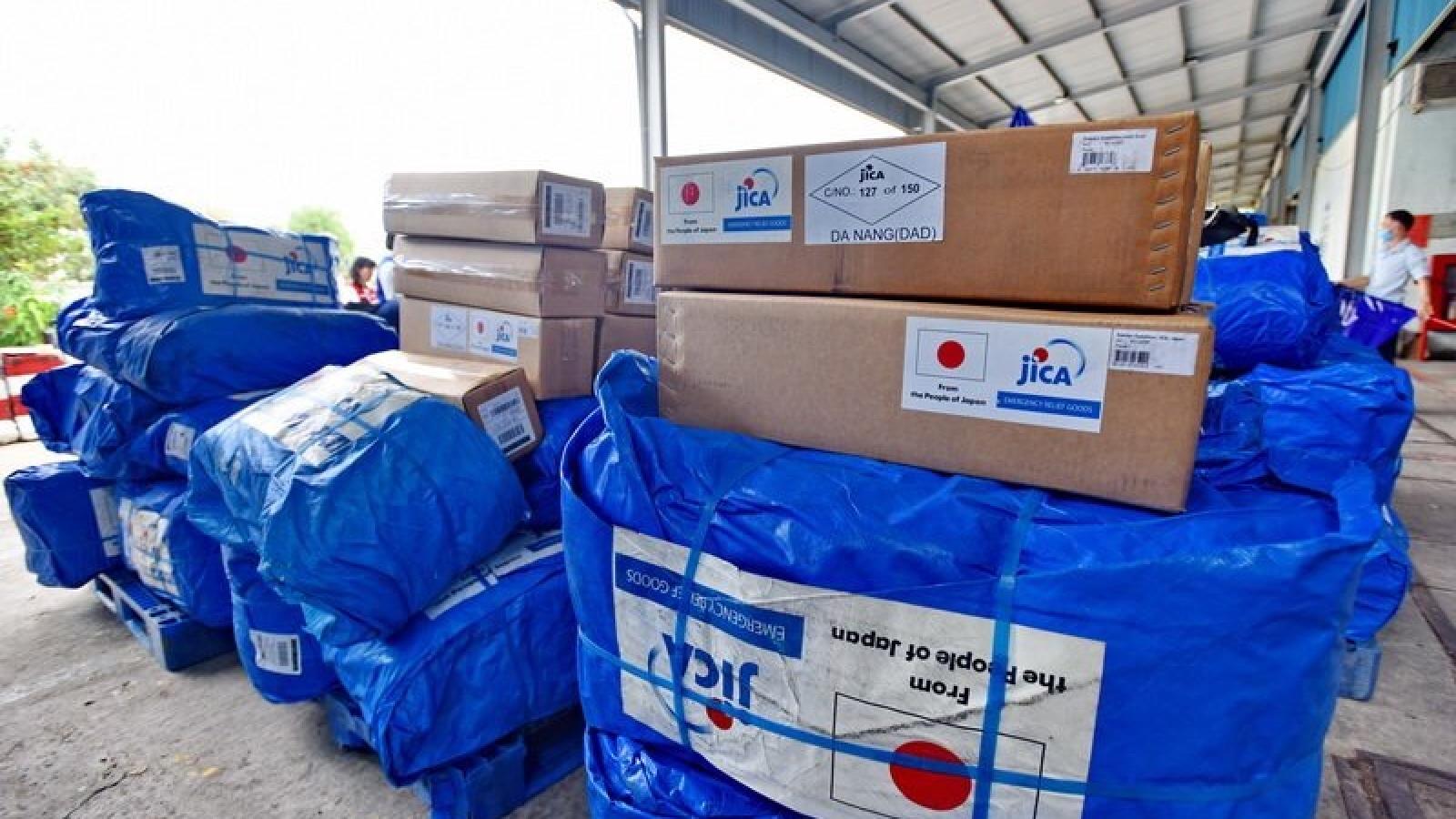 Mỹ - Nhật Bản hỗ trợ cho các tỉnh miền Trung Việt Nam khắc phục hậu quả lũ lụt