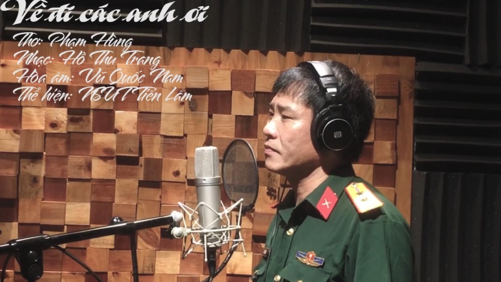 Xúc động ca khúc về người lính hy sinh ở Thủy điện Rào Trăng 3