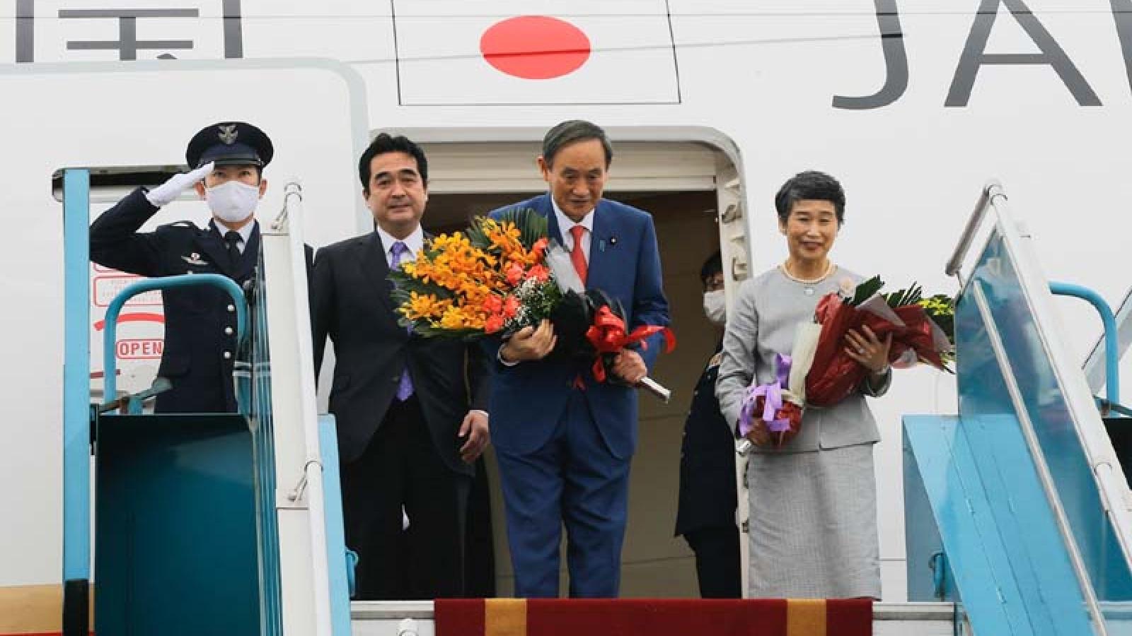 Japanese Prime Minister Suga concludes Vietnam visit