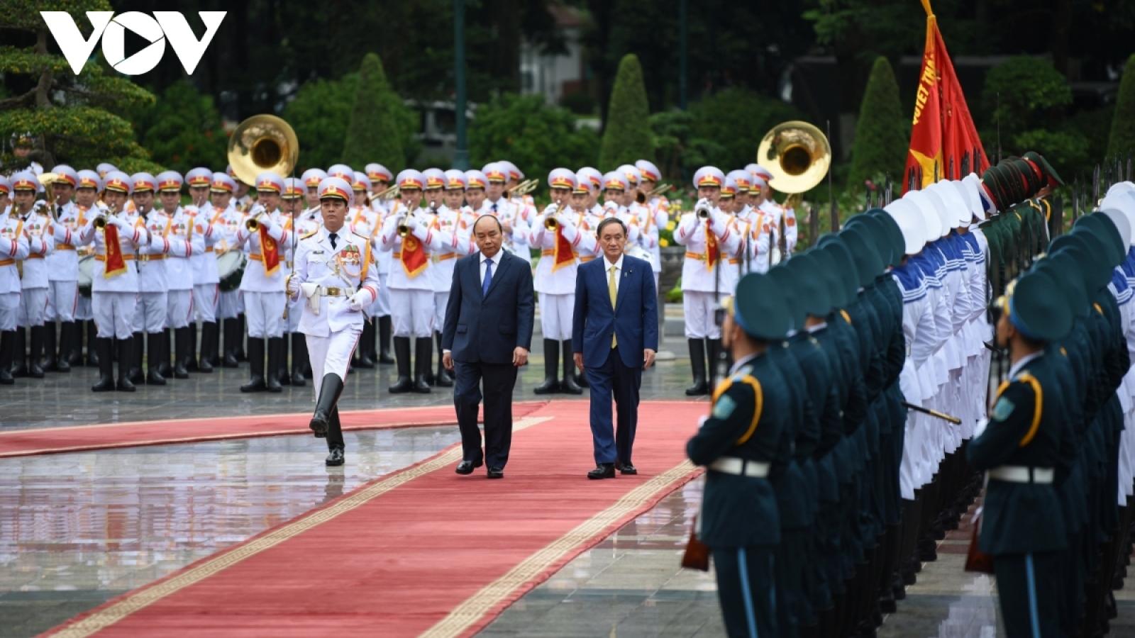 Tín hiệu tích cực từ chuyến thăm Việt Nam của Thủ tướng Nhật Bản