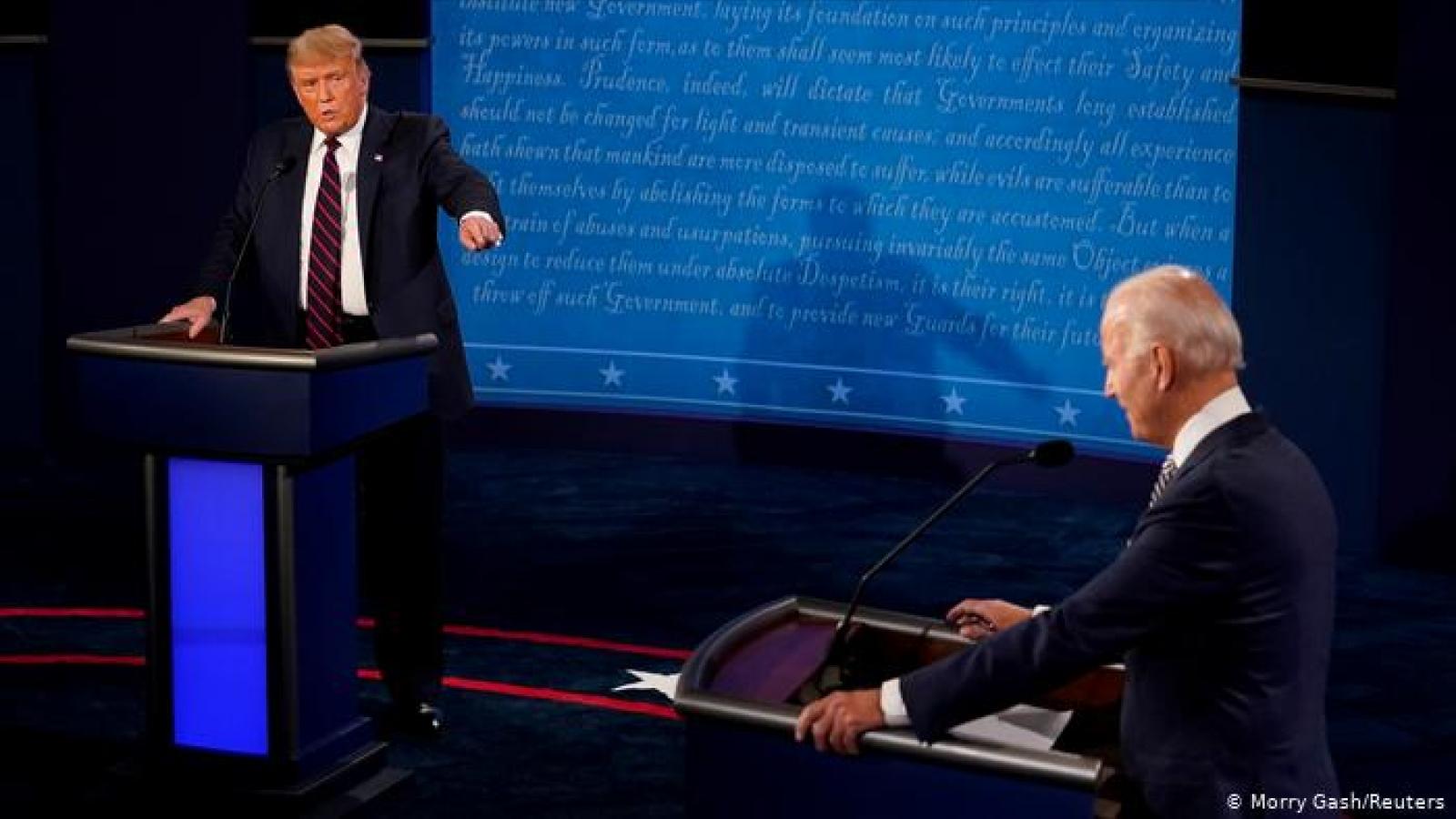 Điều duy nhất Biden đã làm để chiến thắng cuộc tranh luận trước Trump
