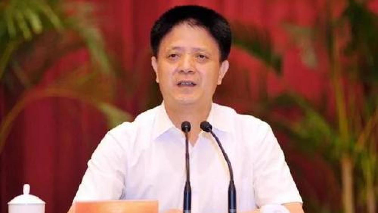 Trung Quốc: Nguyên Phó tỉnh trưởng Phúc Kiến bị khai trừ đảng và cách chức