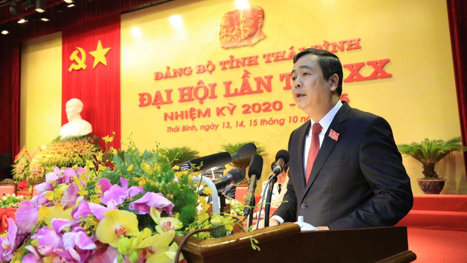 Khai mạc Đại hội đại biểu Đảng bộ tỉnh Thái Bình nhiệm kỳ 2020-2025