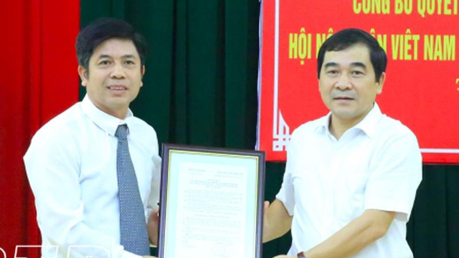 Nhân sự mới tỉnh Thái Bình, Bộ Ngoại giao