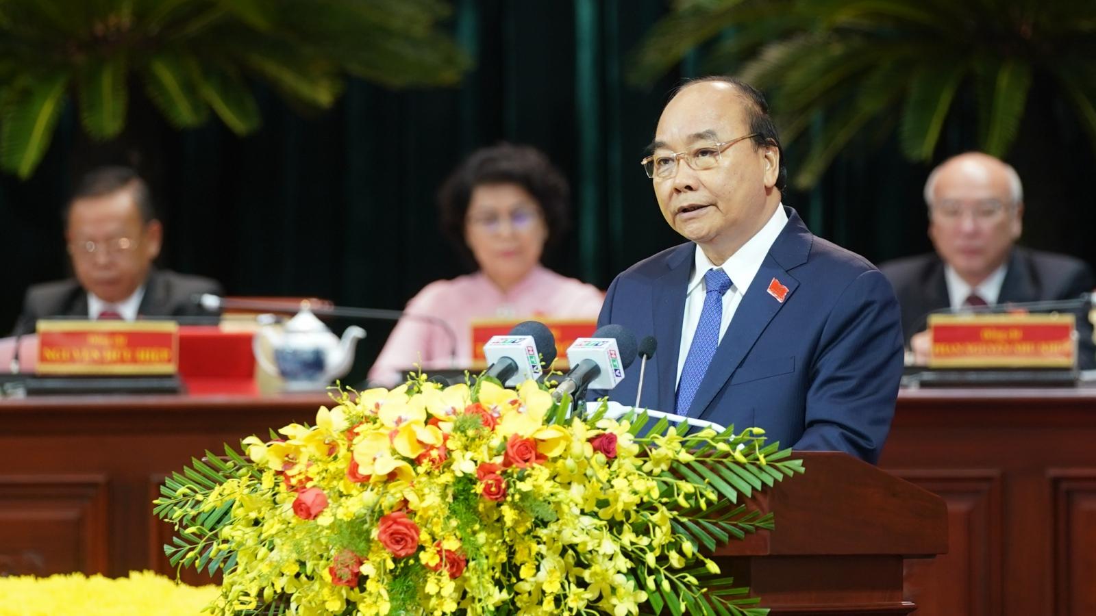 Thủ tướng: TP.HCM không thiếu nguồn lực, chỉ thiếu cơ chế, chính sách phù hợp