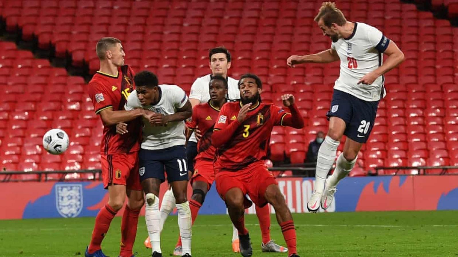 Mason Mount lập siêu phẩm, ĐT Anh ngược dòng kịch tính trước Bỉ tại Wembley