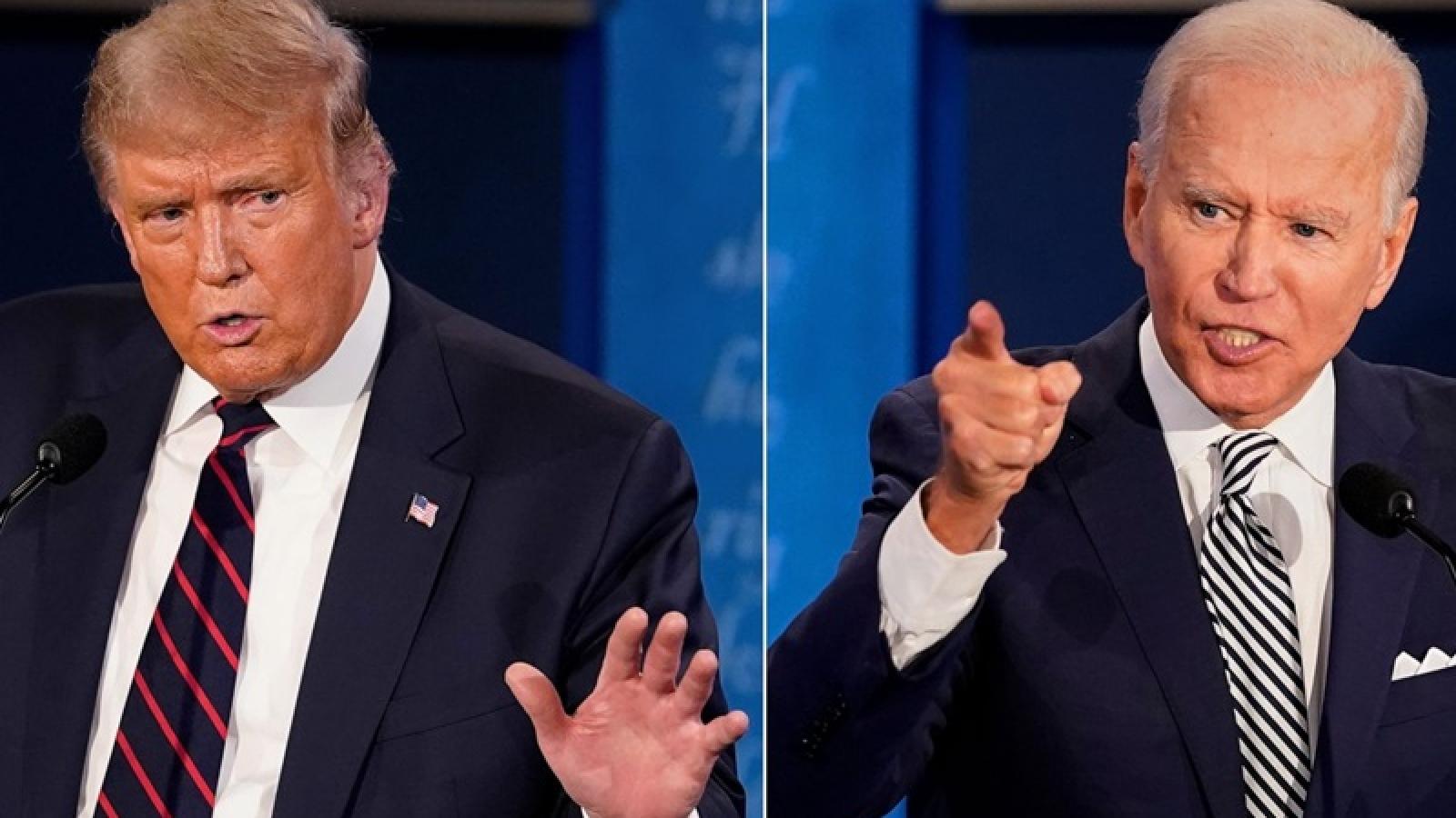 Bầu cử Mỹ: Tranh cãi hình thức tranh luận trực tiếp hay trực tuyến