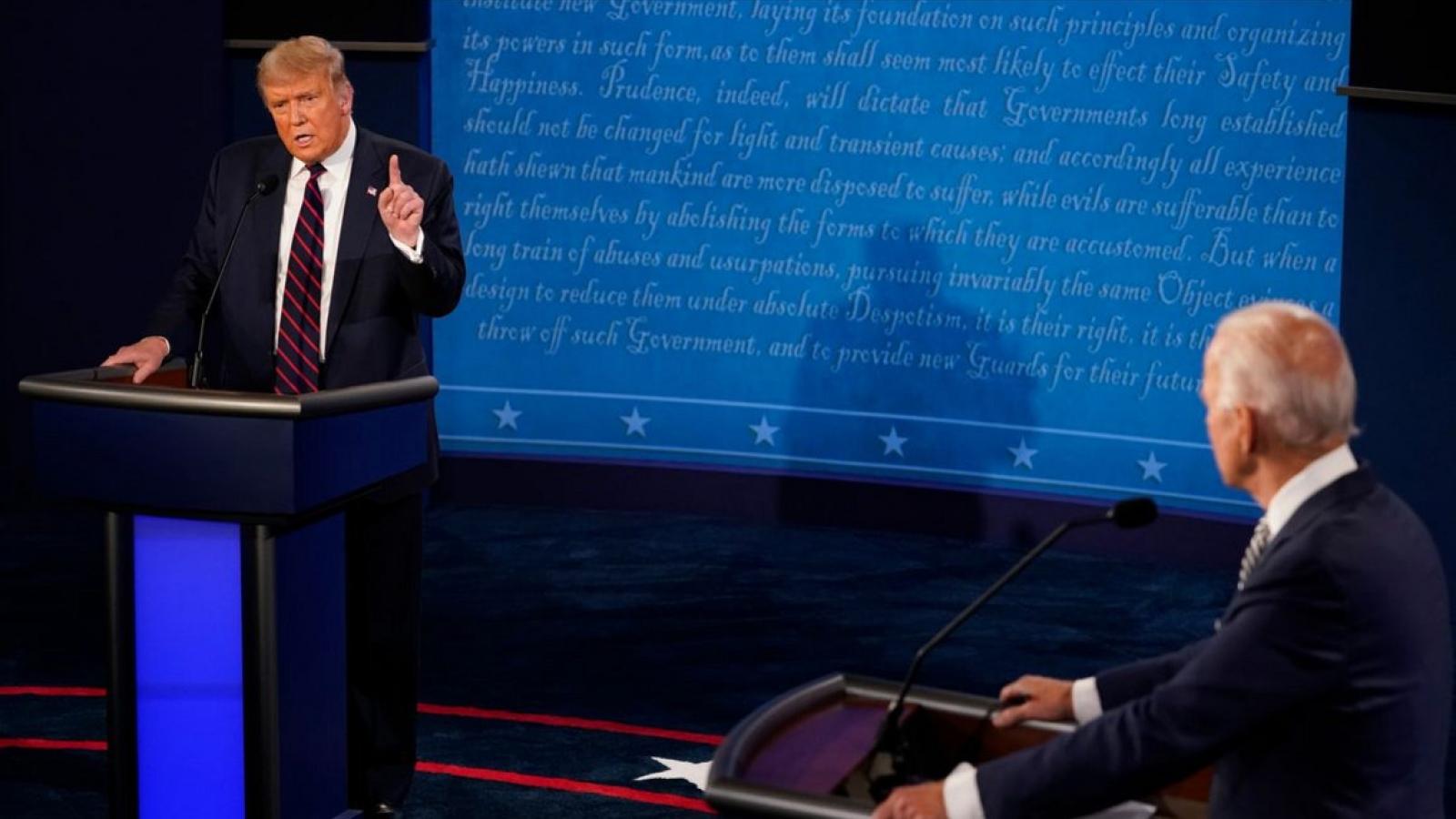 Các bang chiến địa có thể quyết định kết quả cuộc bầu cử Tổng thống Mỹ 2020