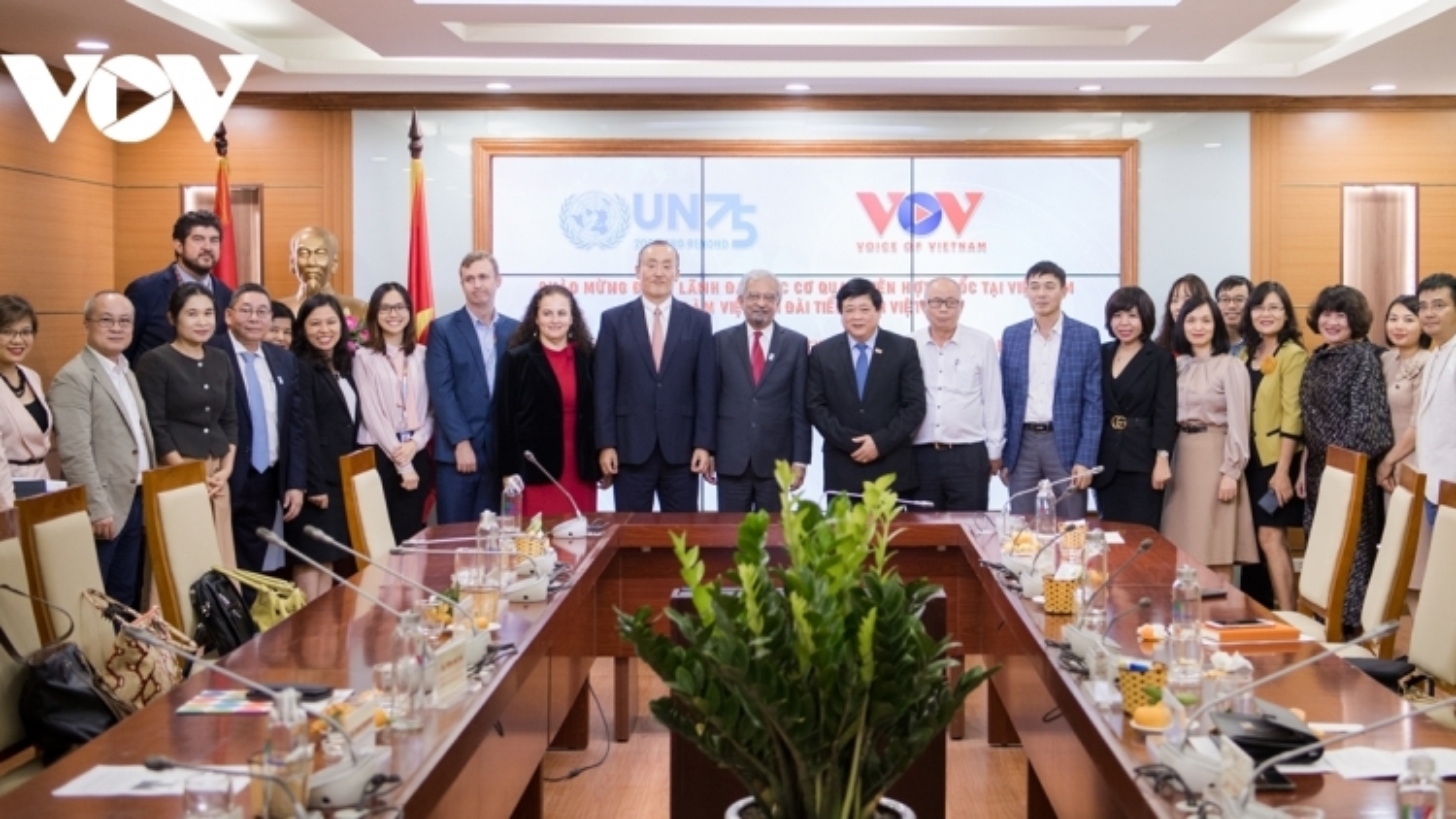 VOV vows to work closely alongside UN agencies in Vietnam