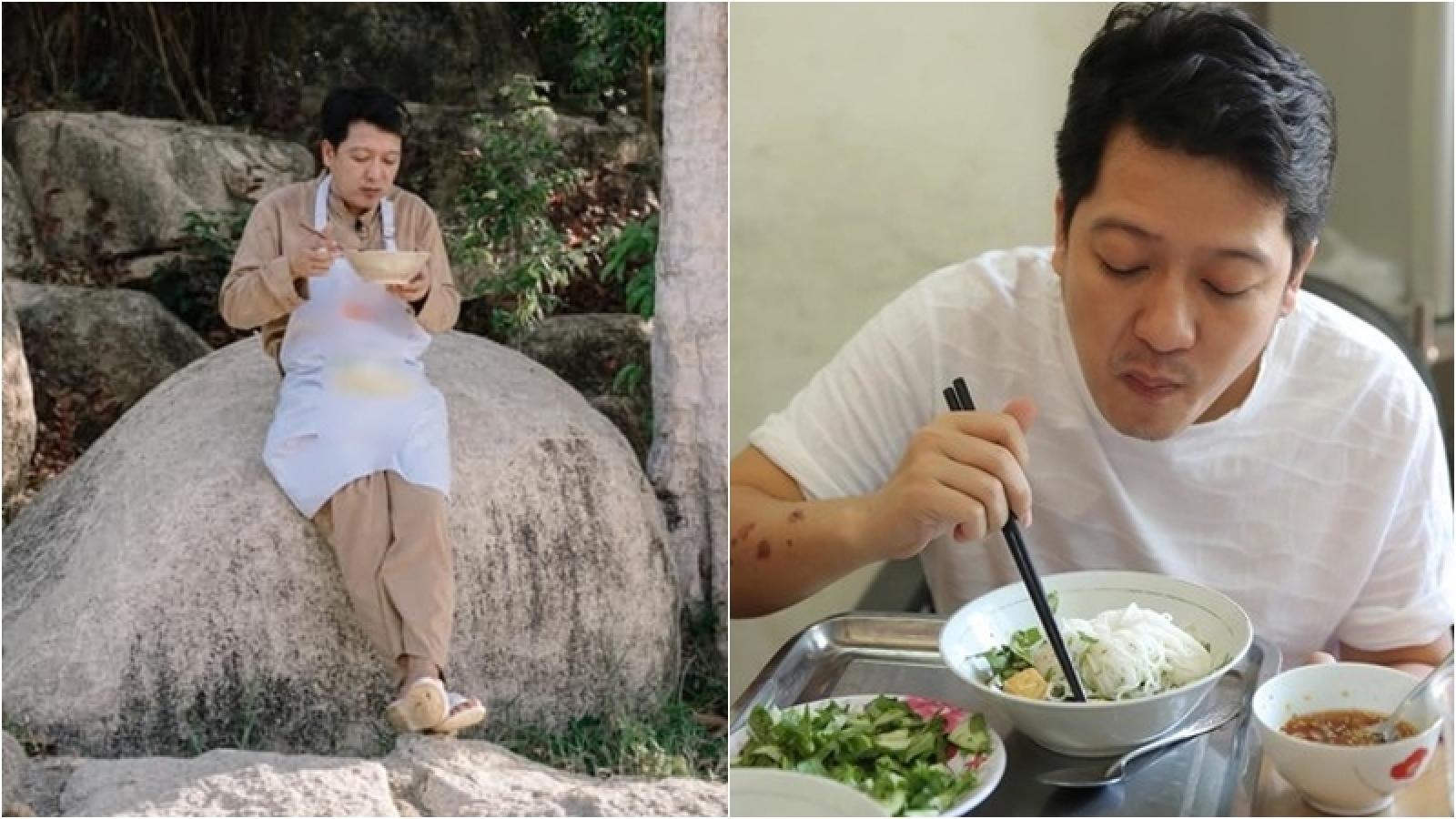 Những bữa cơm đạm bạc của danh hài Trường Giang khiến khán giả không khỏi xót xa