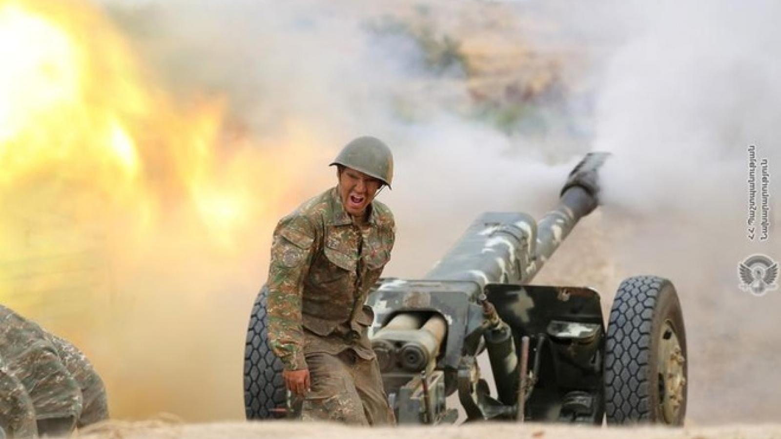 Thổ Nhĩ Kỳ phản đối Nga, Pháp và Mỹ can dự vào Nagorno-Karabakh
