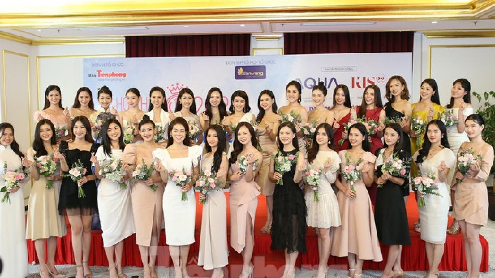 30 northern contestants into Miss Vietnam 2020 semi-finals