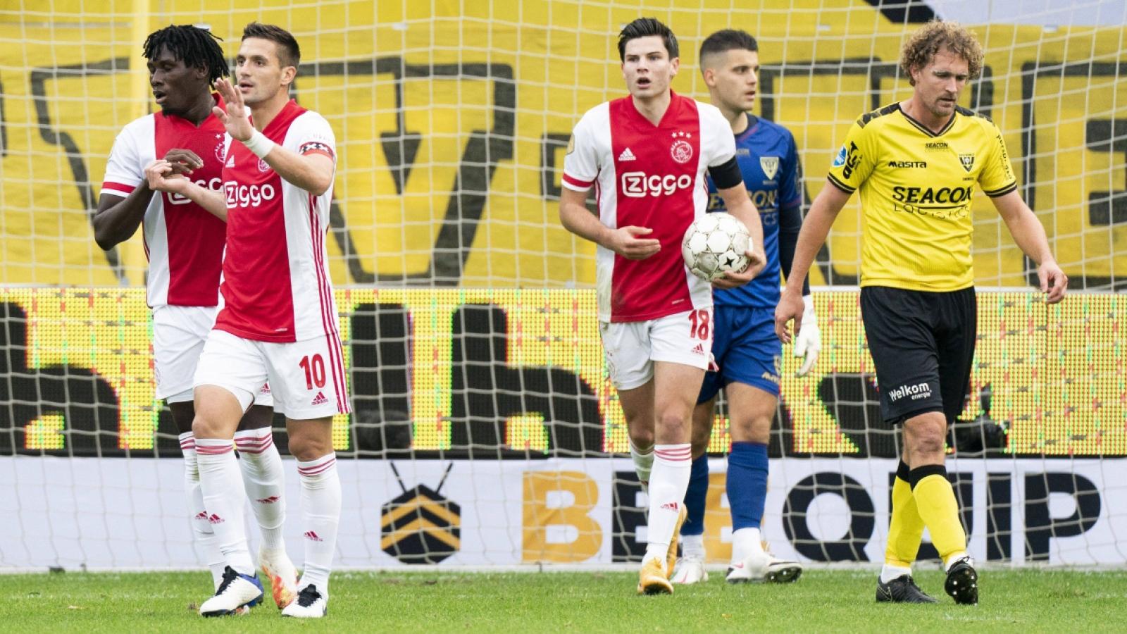 """""""Hủy diệt"""" đối thủ ở giải Hà Lan bằng tỷ số không thể tin nổi, Ajax lập kỷ lục châu Âu"""