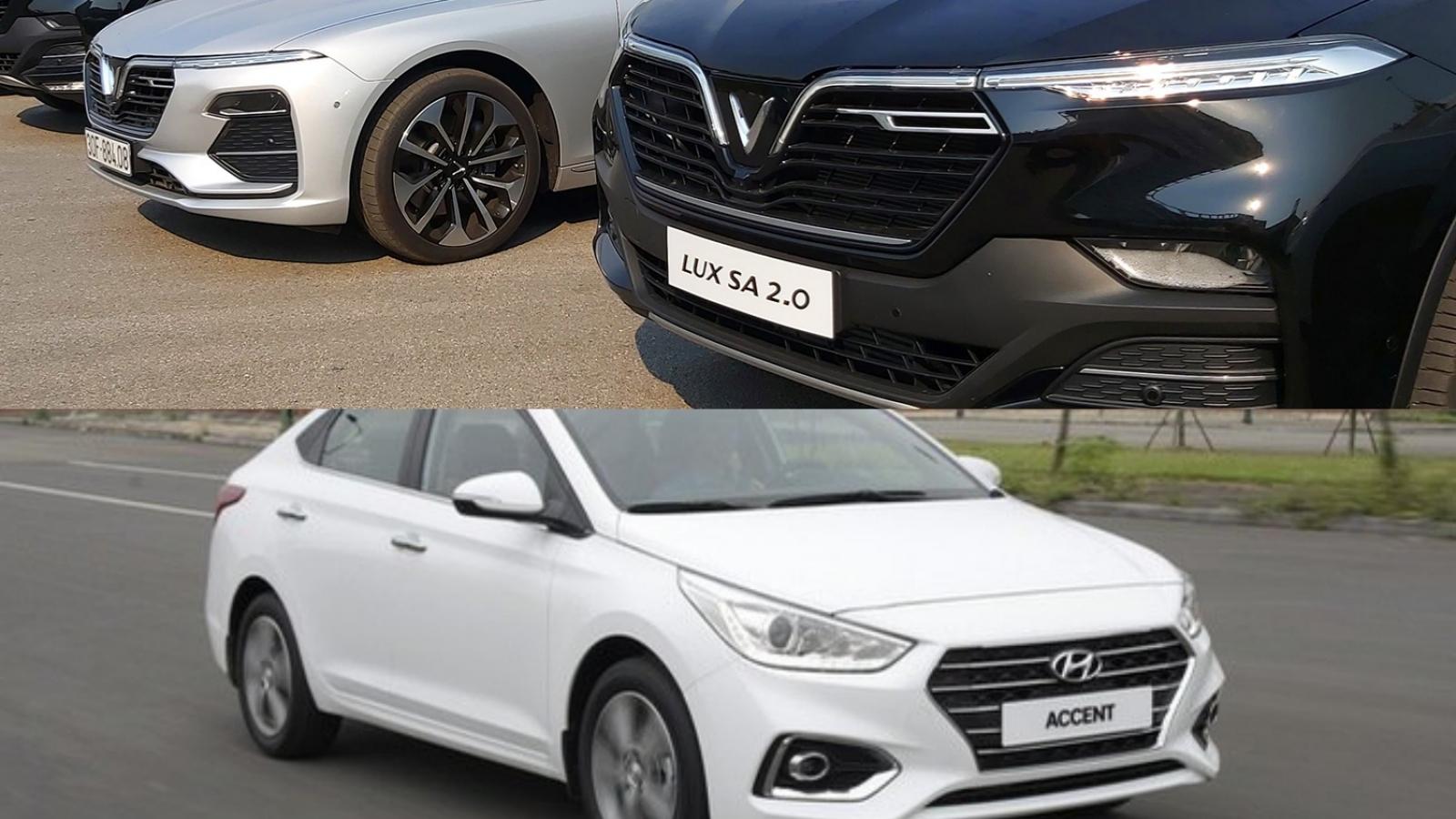 10 mẫu xe bán chạy nhất tháng 9: Gọi tên Hyundai và VinFast