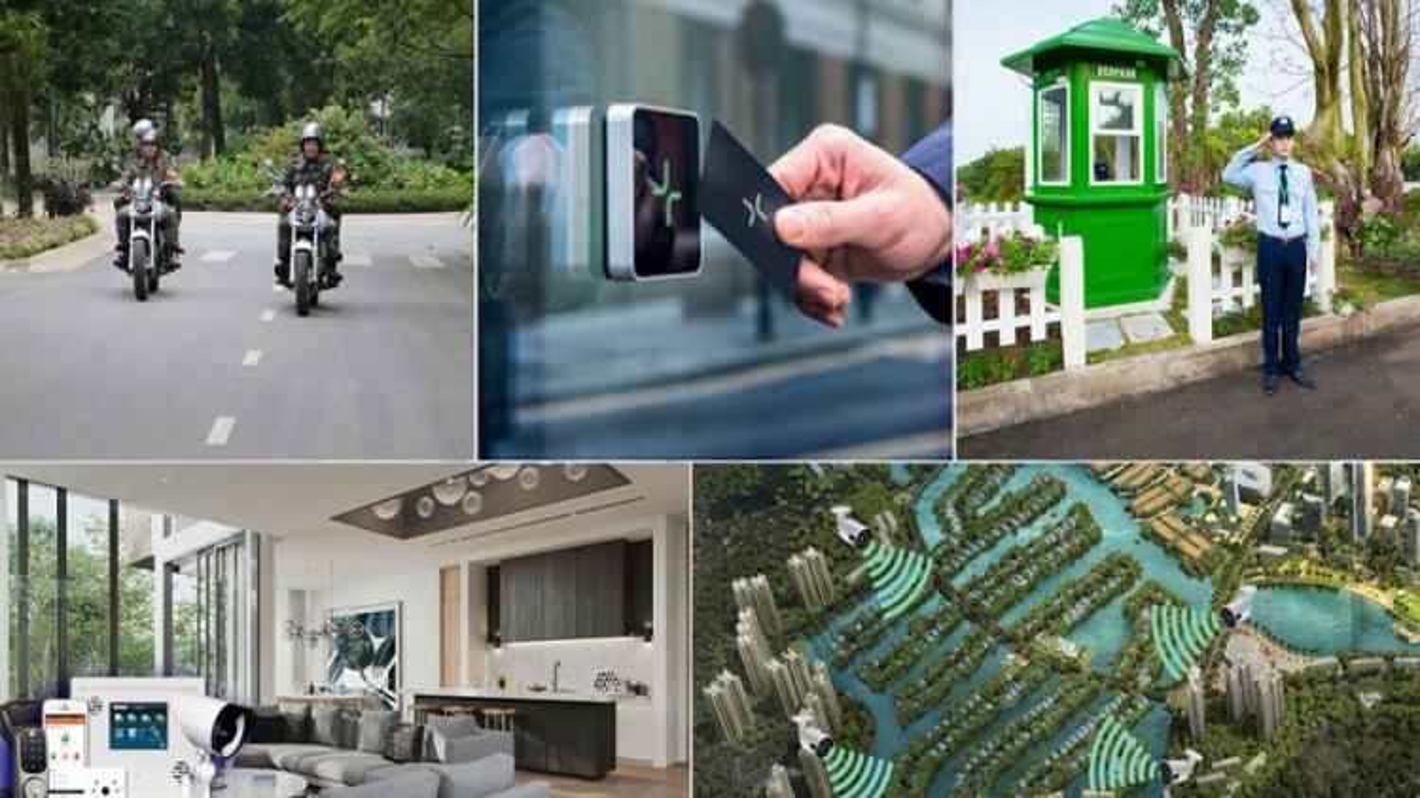 Ecopark hợp tác cùng Samsung, Bosch triển khai hệ thống an ninh thông minh khu biệt thự
