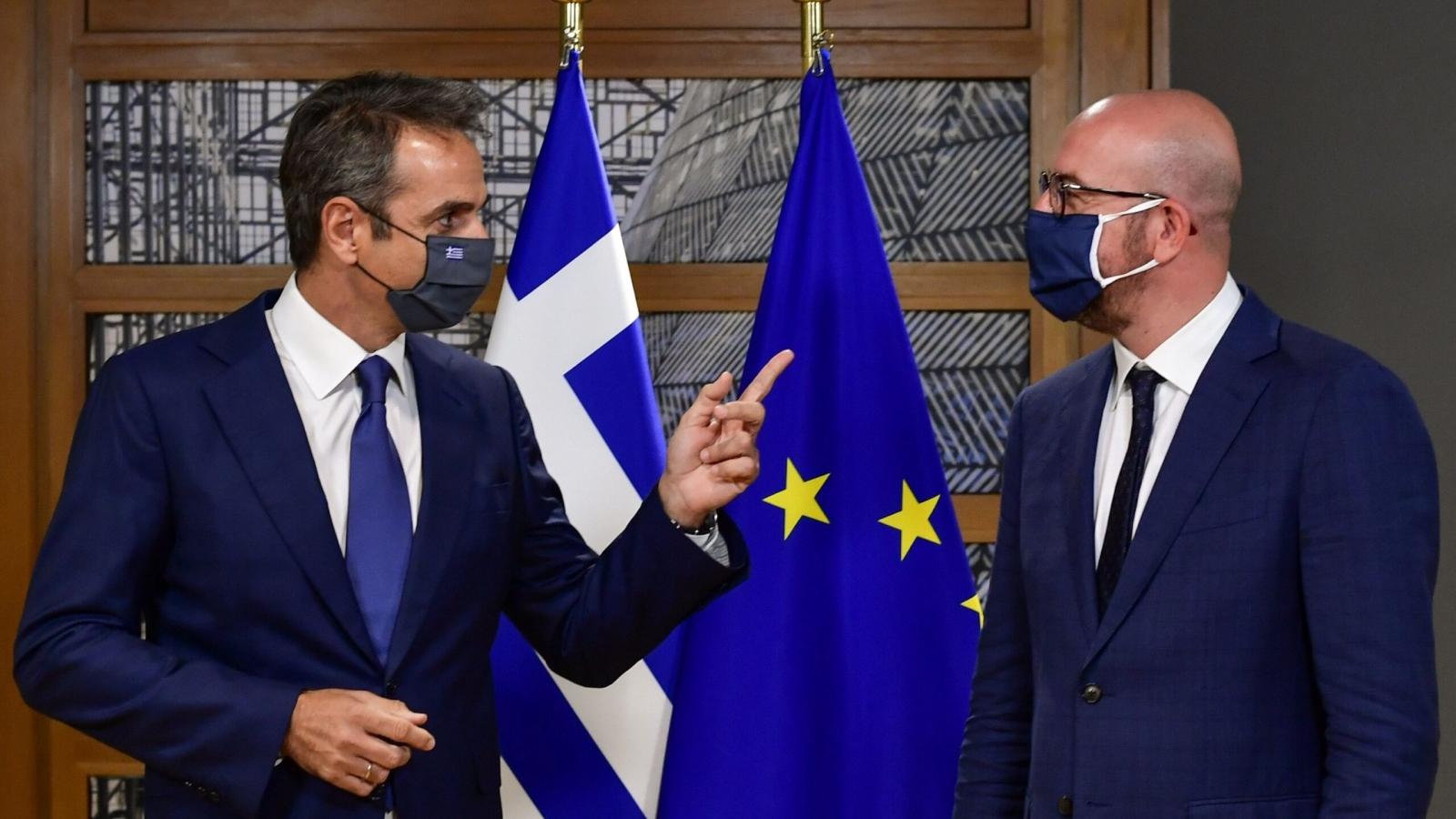 Hy Lạp bác bỏ đề xuất không trừng phạt Thổ Nhĩ Kỳ của EU