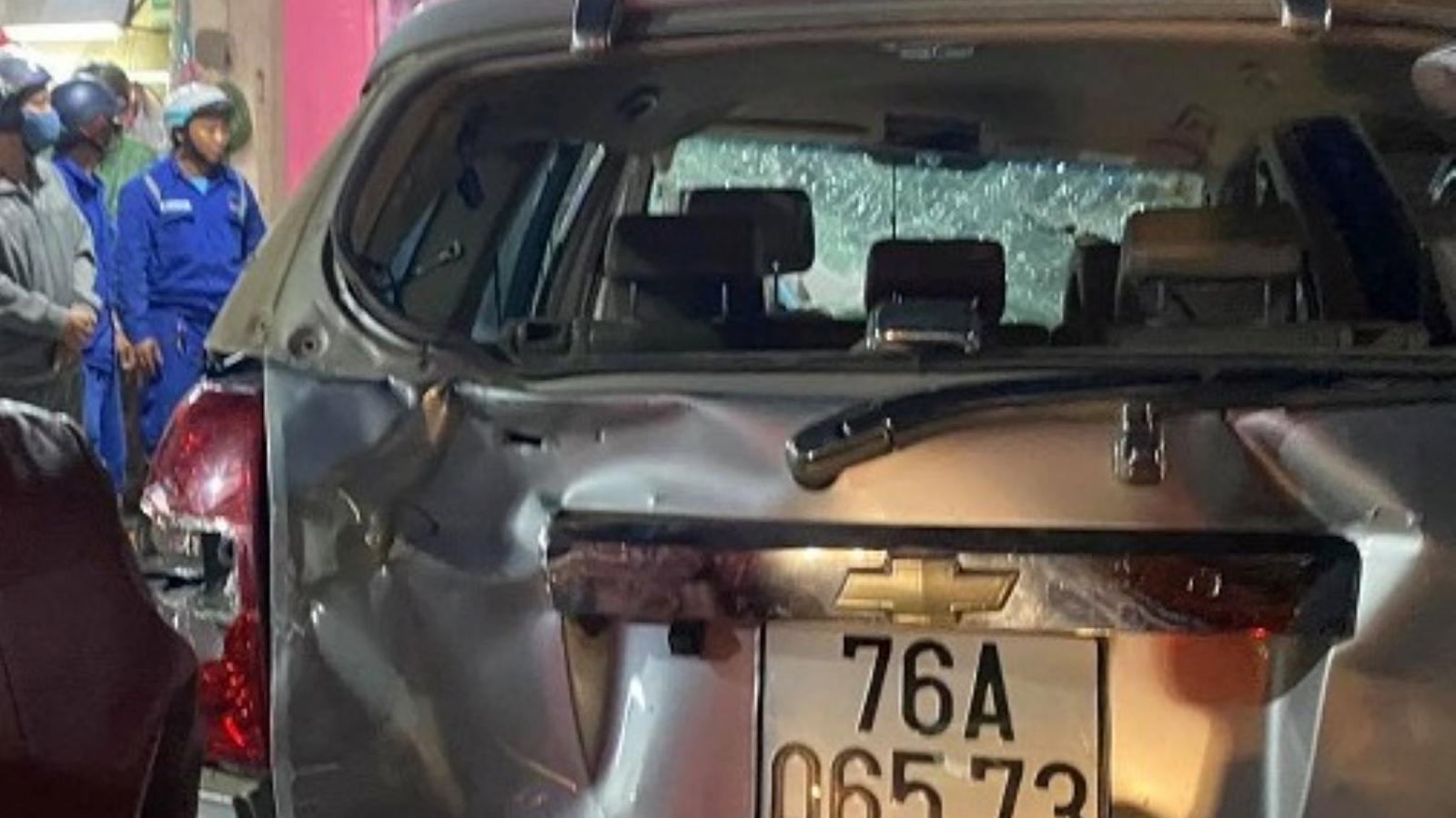Vụ tai nạn liên hoàn ở Quảng Ngãi: 3 người chết, 4 người bị thương